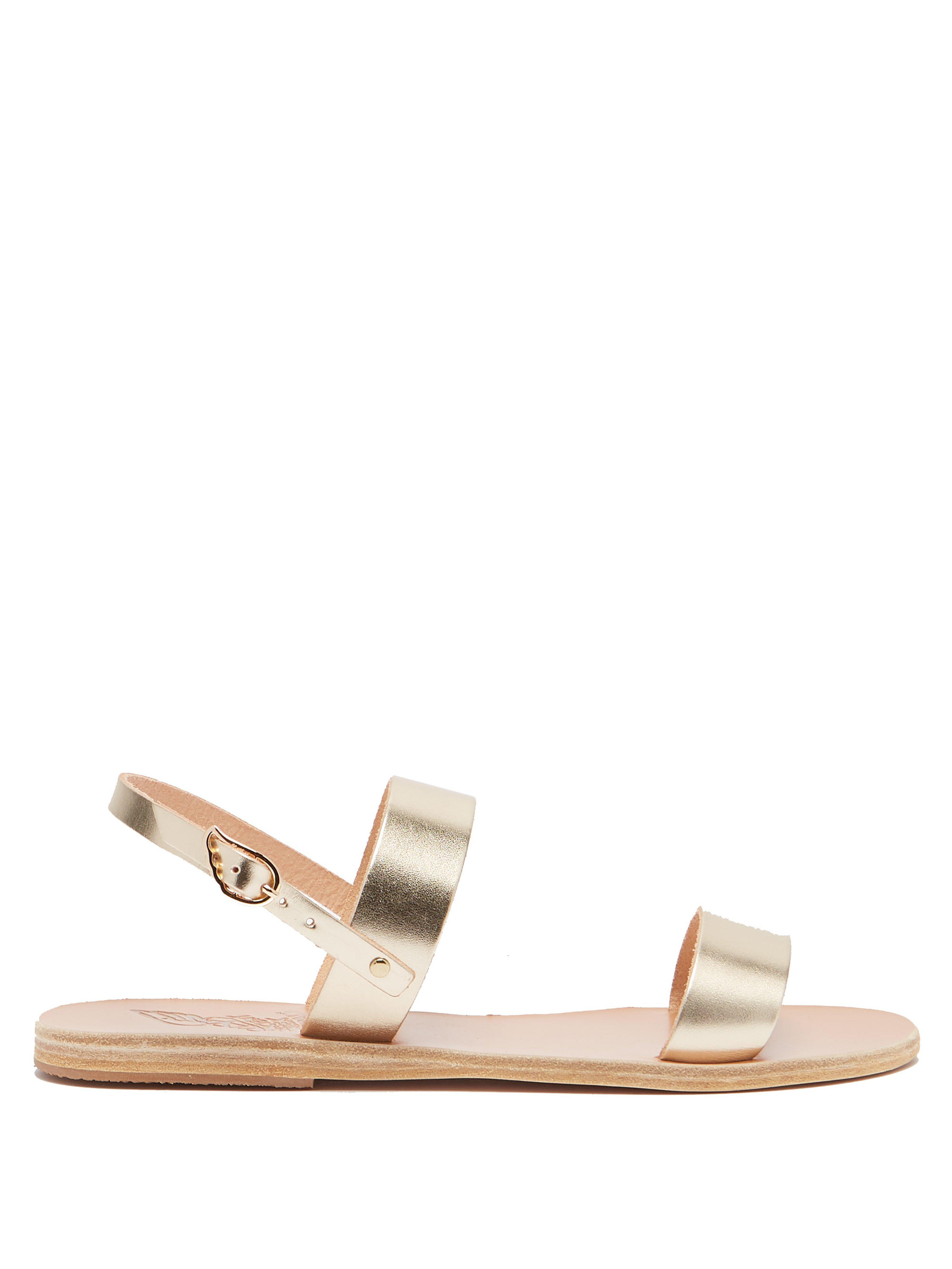 163f6eb41f5aa Ancient Greek Sandals Clio Leather Sandals - Save 25.80645161290323 ...