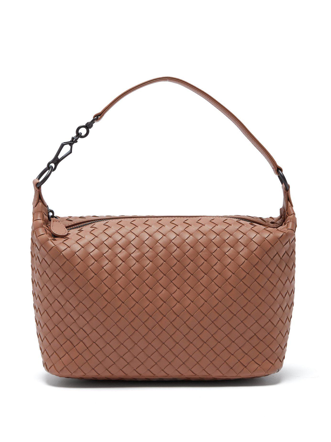 Bottega Veneta Ciambrino Intrecciato Leather Shoulder Bag - Lyst cdb3bde90a940