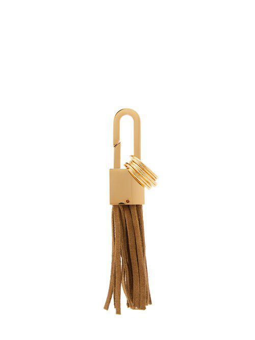 Buscemi Logo-engraved padlock key ring 25Ky4gr2MY