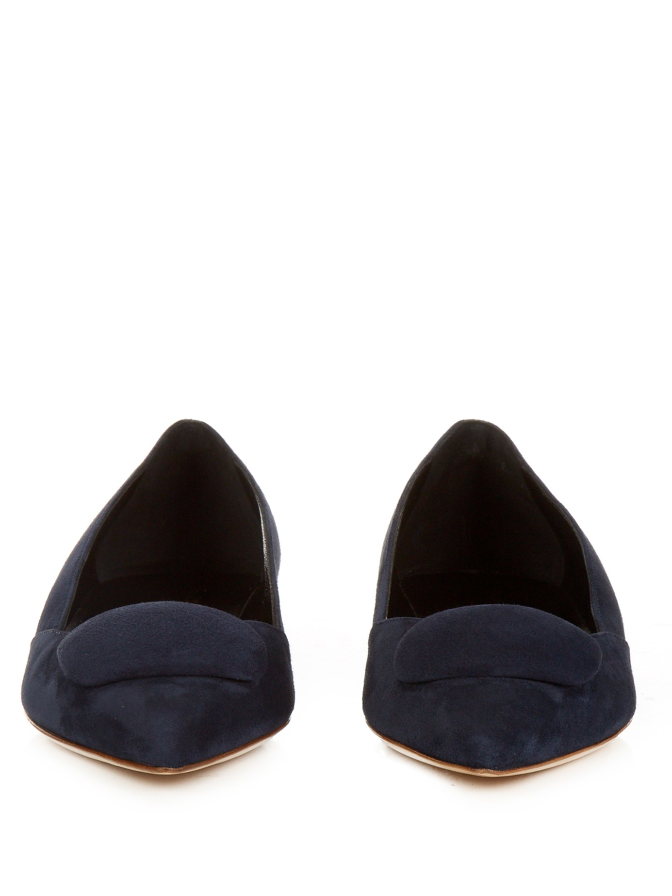 Rupert Sanderson Aga Suede Shoes