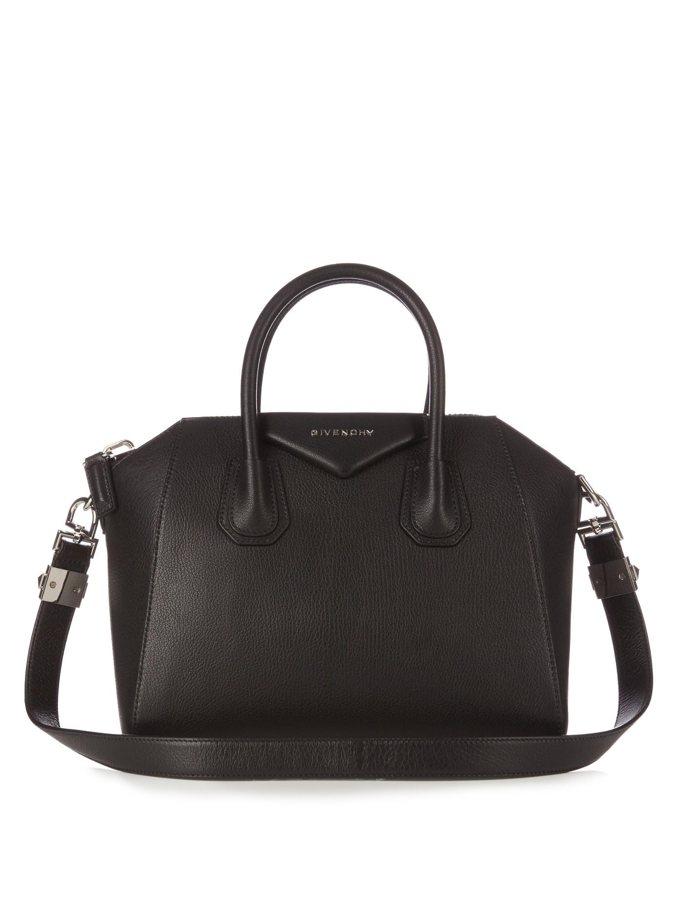 Givenchy Small Antigona Tote in Black - Lyst 3c45e56890f16