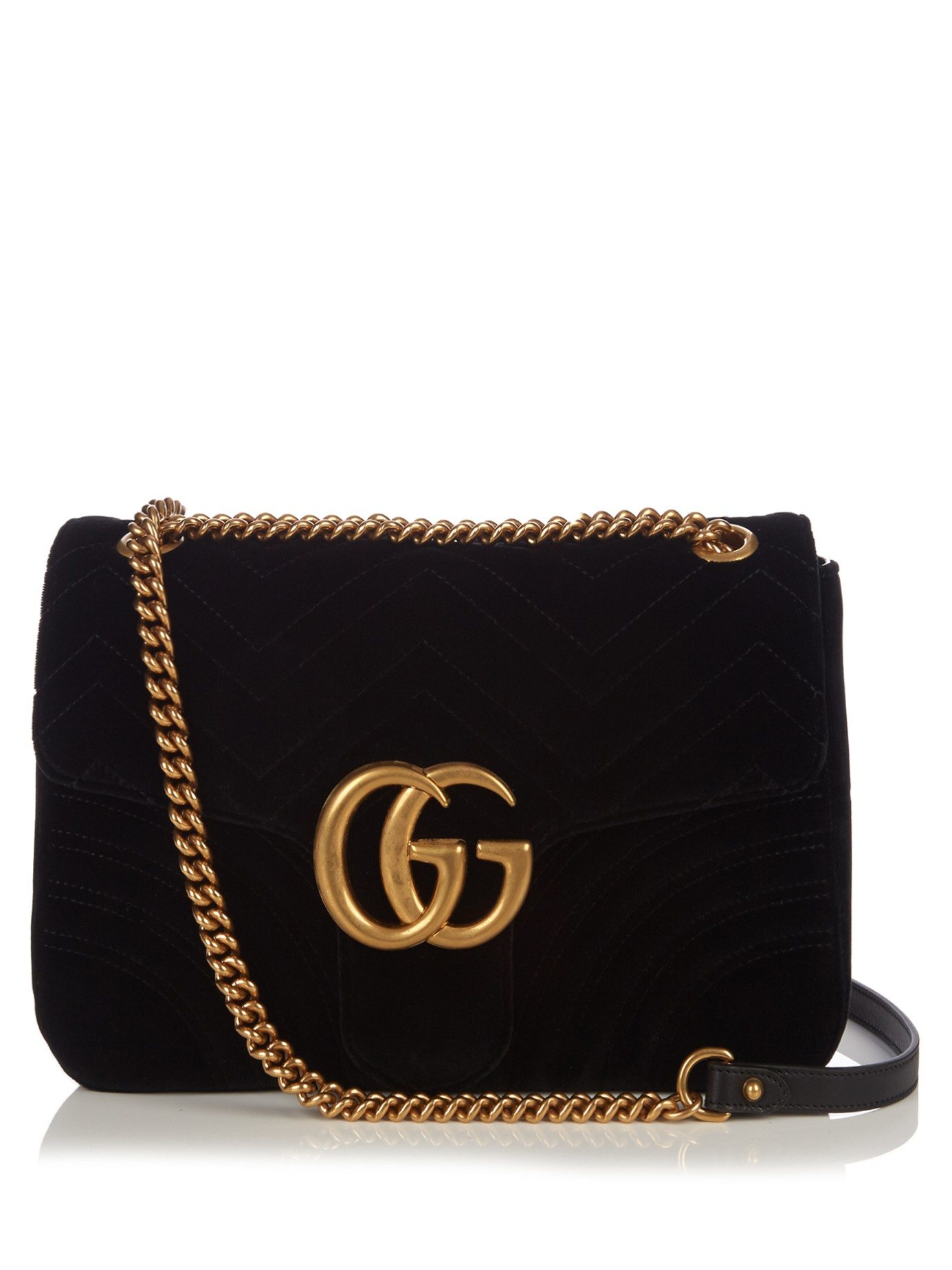 d33fe09c552f Gucci Velvet Marmont Clutch With Chevron Motif. Gucci GG Marmont Velvet Shoulder  Bag Black 443497. GUCCI Gg Marmont 2.0 Mini Quilted Velvet Crossbody ...