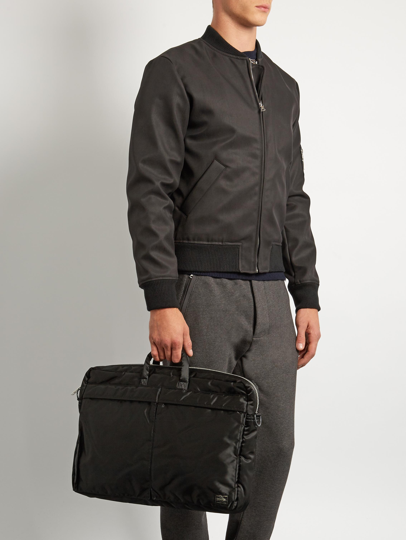 Lyst porter tanker 3way briefcase in black for men for Men a porter