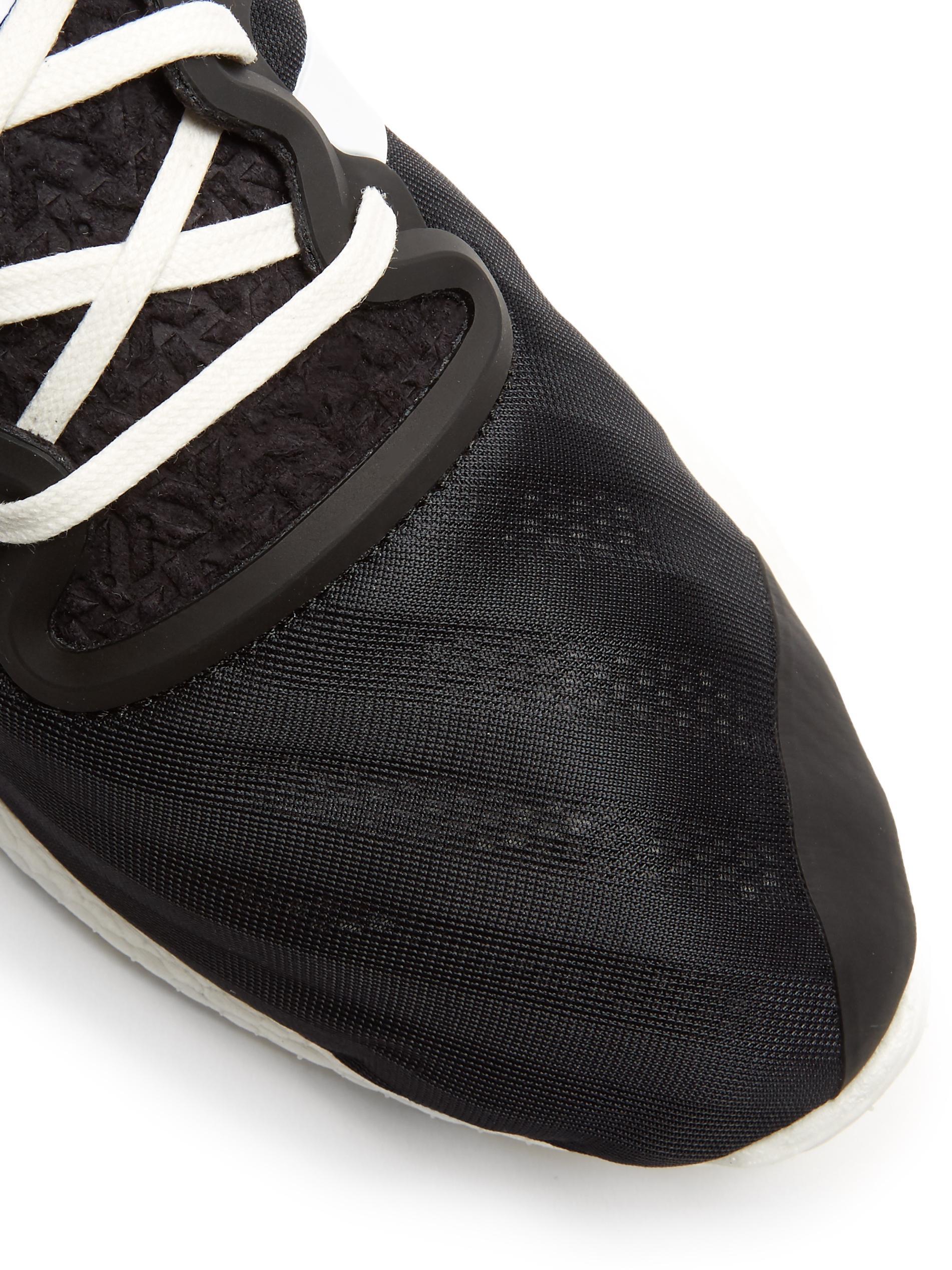 9d3f951eb Lyst - Y-3 Yohji Run Low-top Sneaker in Black for Men