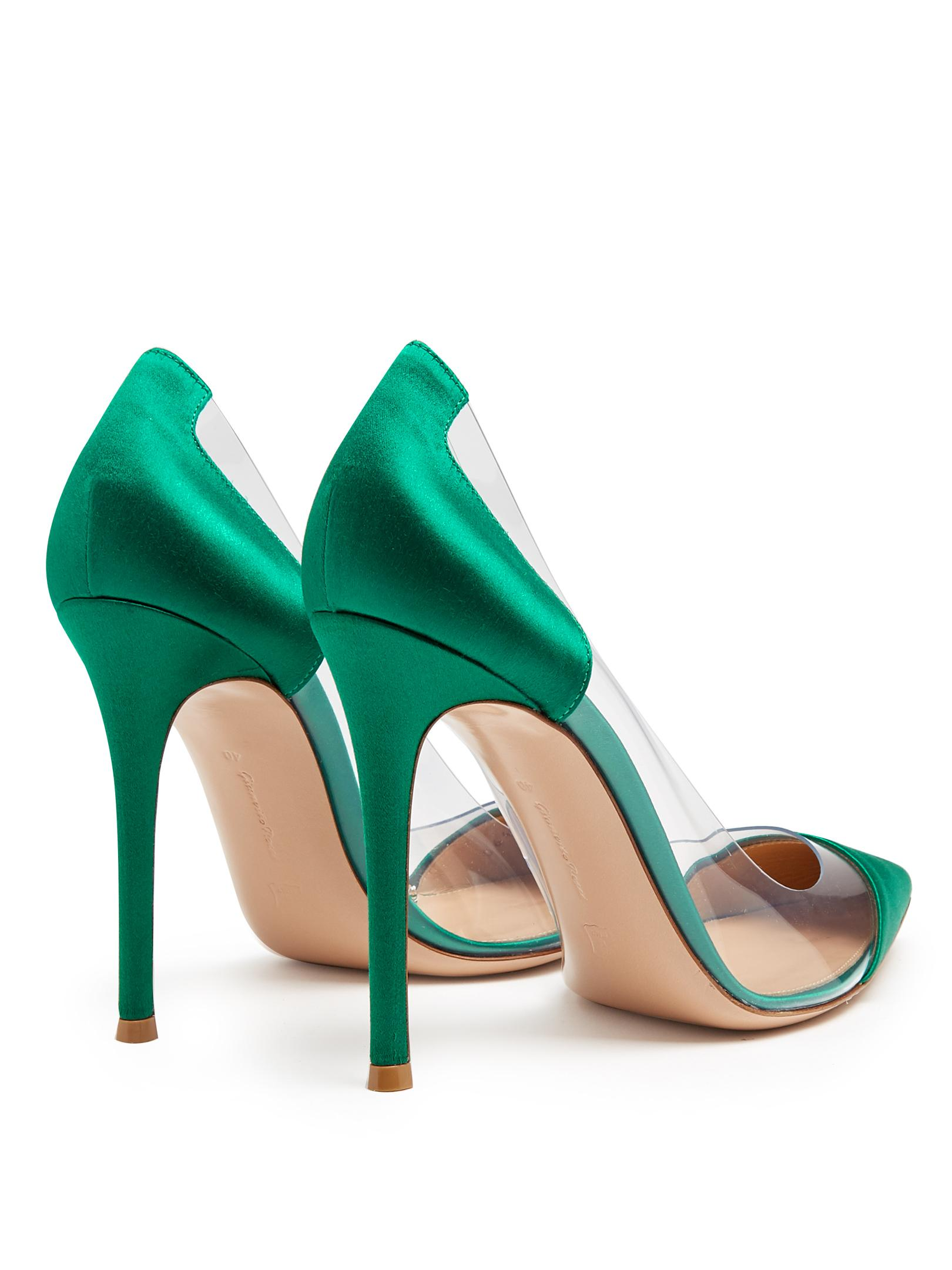 Emerald Green Court Shoes