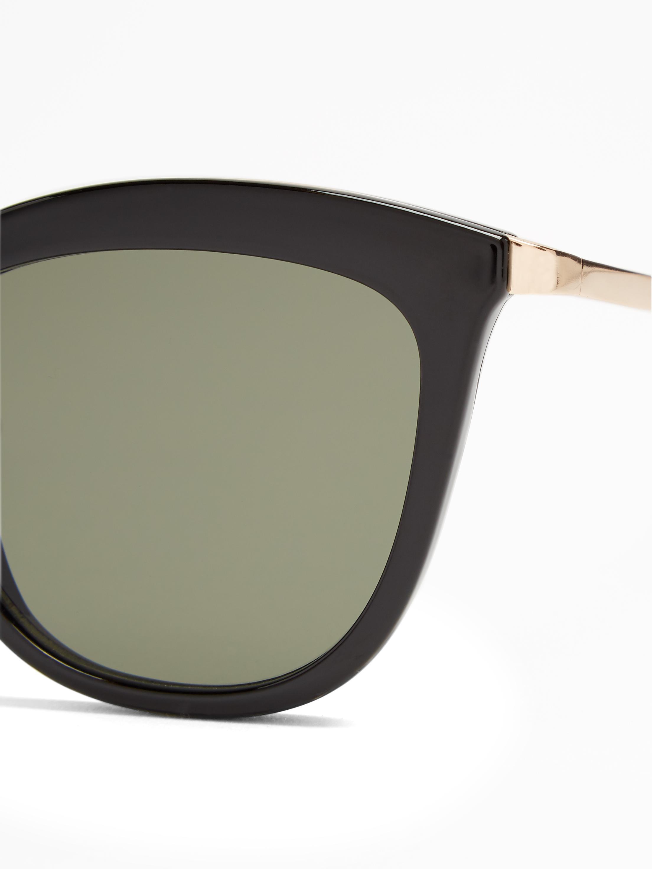 df94ac8003f Lyst - Le Specs Caliente Cat-eye Sunglasses in Black