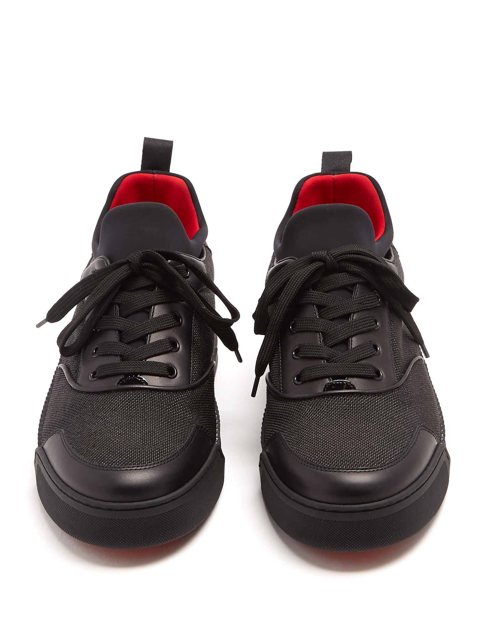 Lyst Christian Louboutin Aurelien Low Top Leather