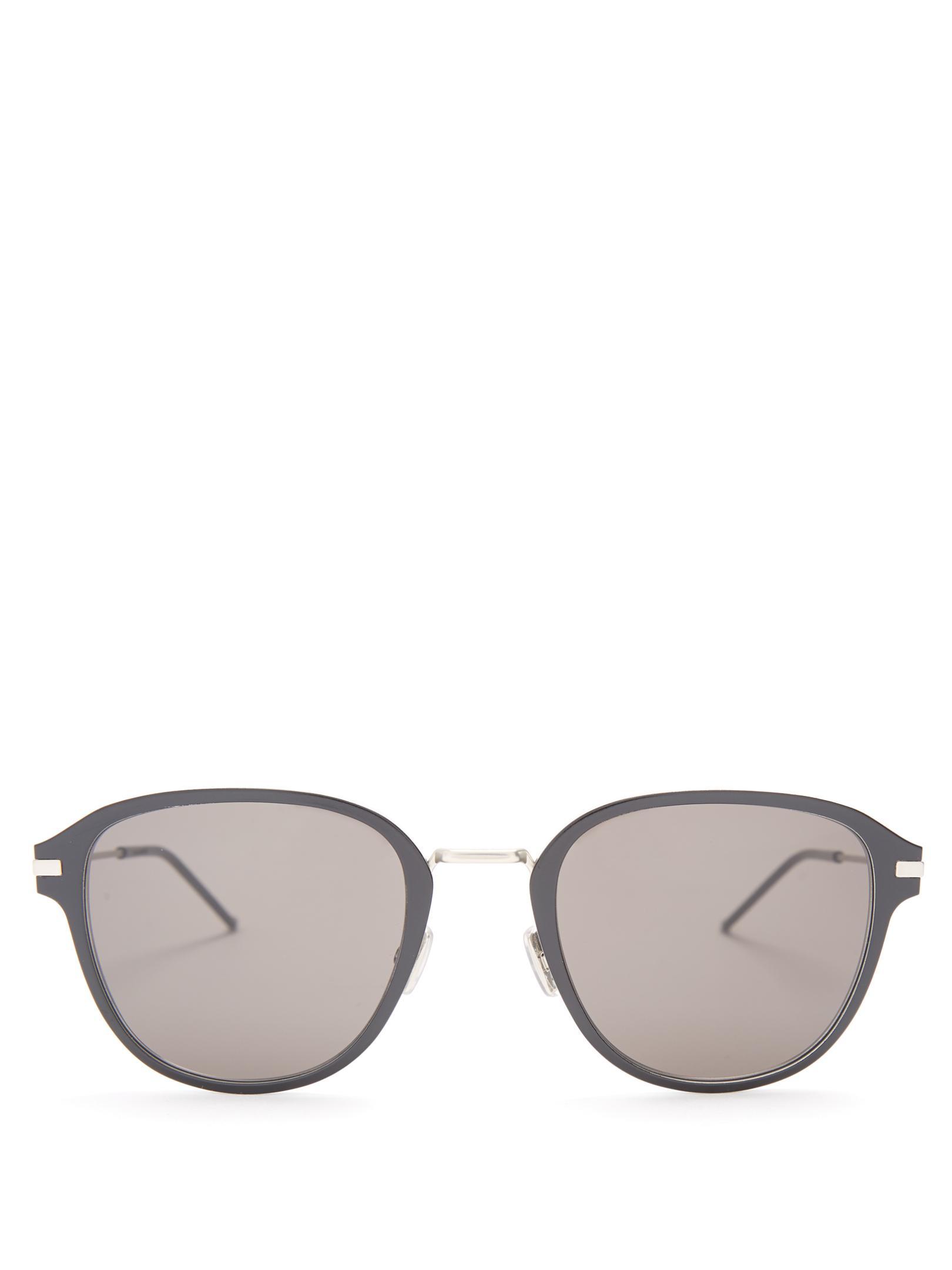 Dior homme Al13.9 D-frame Sunglasses for Men Lyst