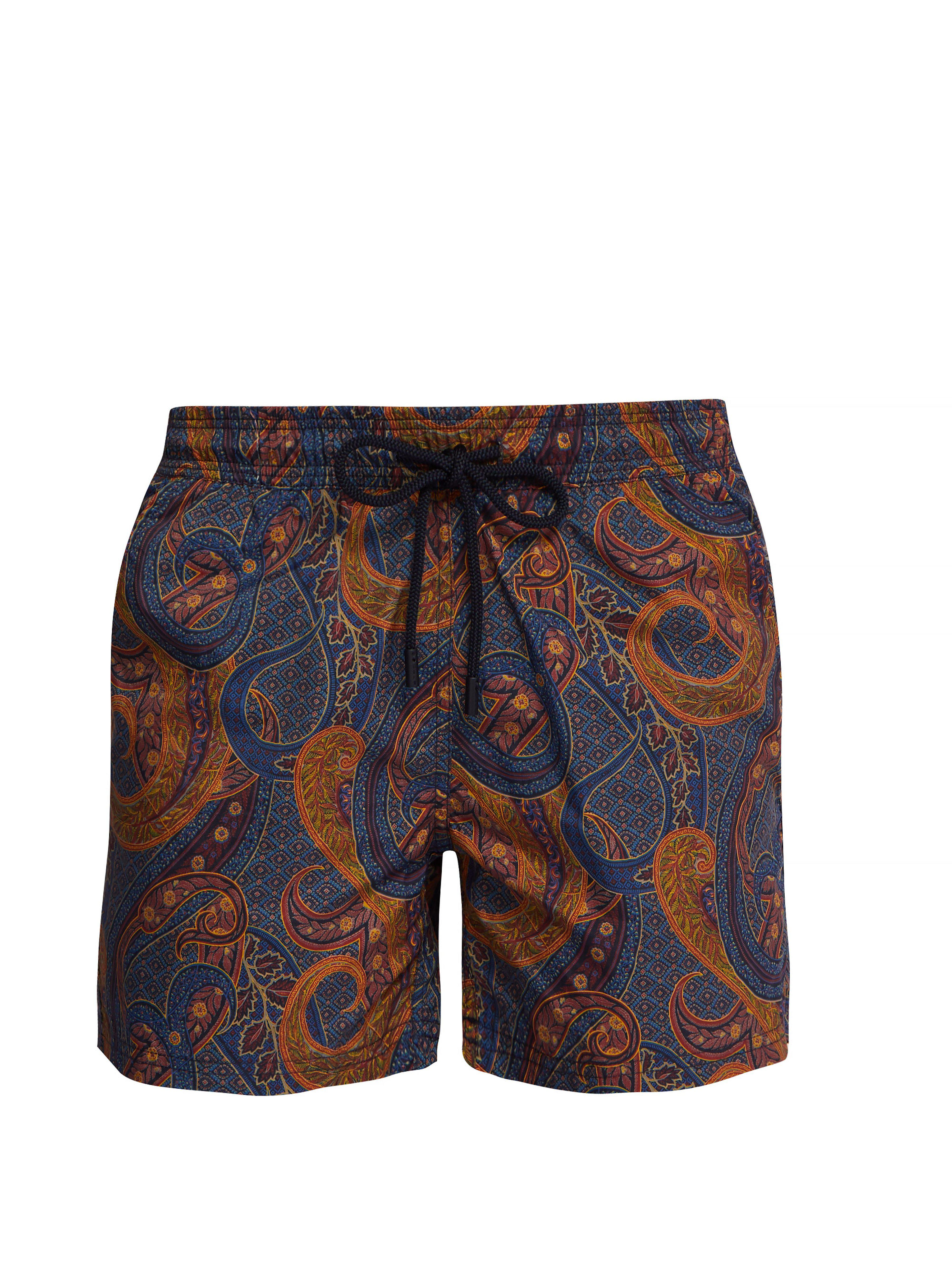 a705633082 Etro Printed Paisley Bathing Suit in Blue for Men - Save 28% - Lyst