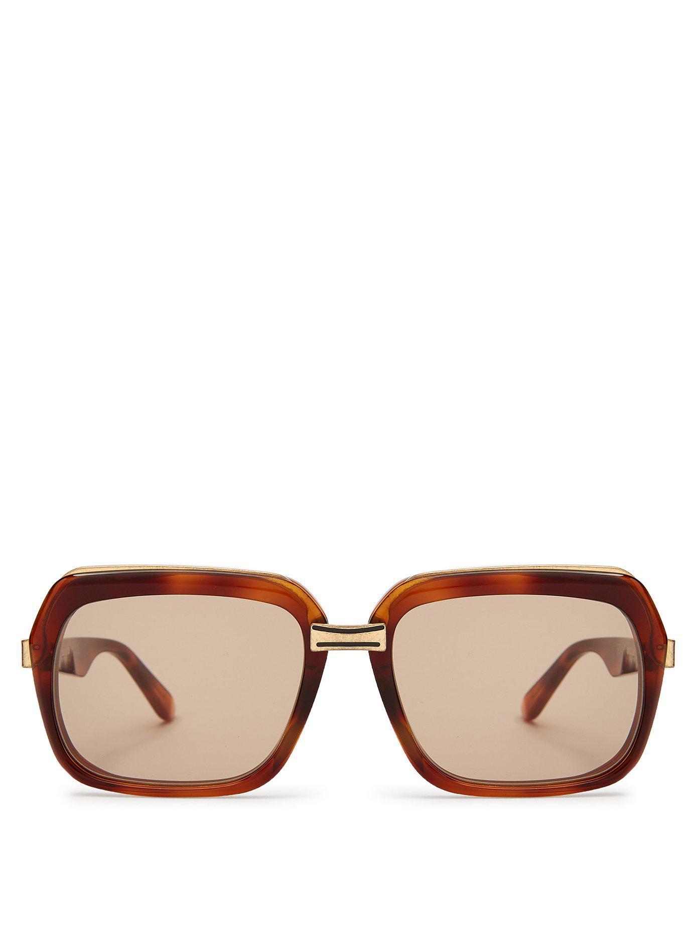 6e8c95b1290 Céline. Women s Oversized Square Frame Acetate Sunglasses