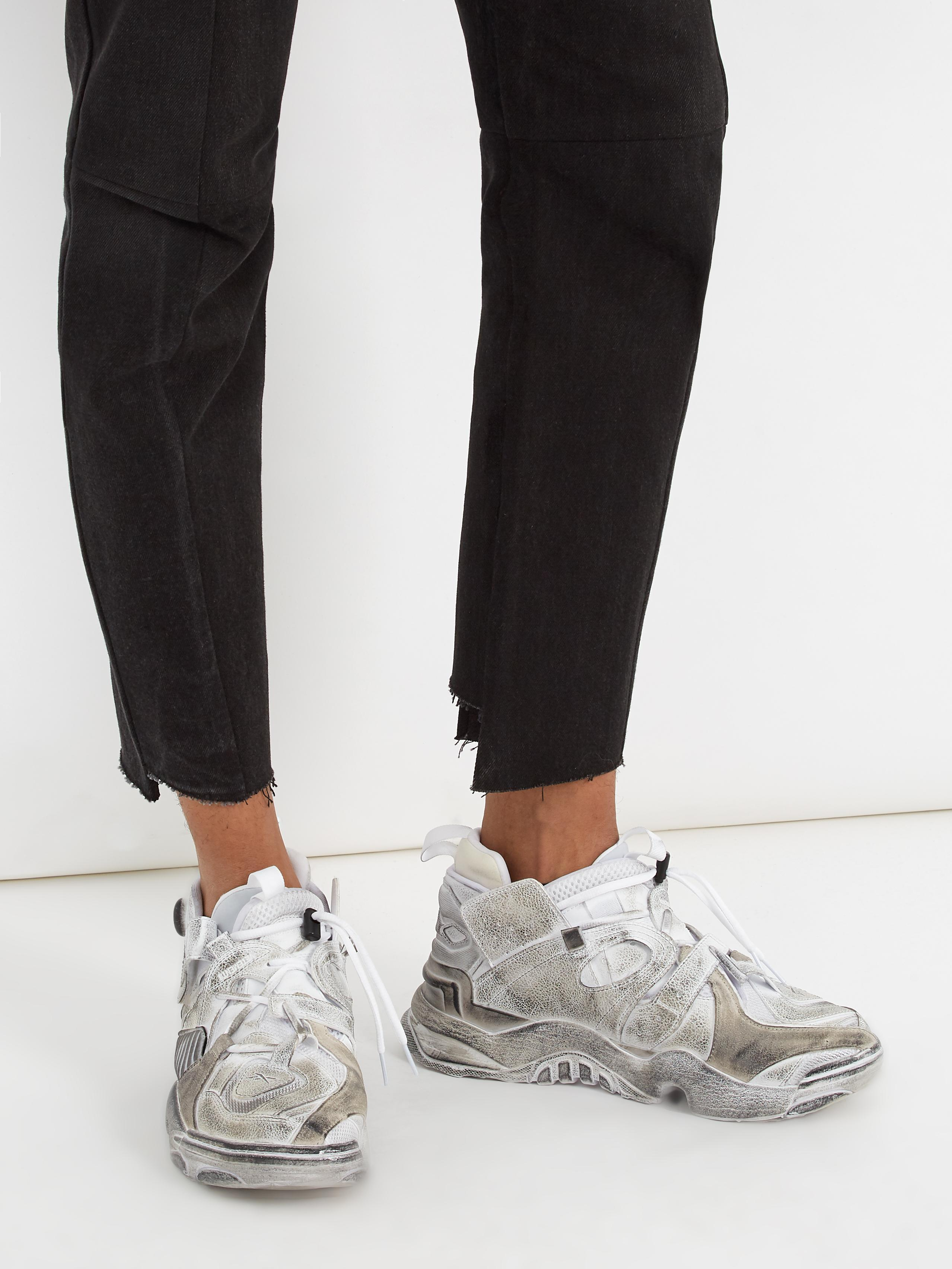 8b2caec3a19 Lyst - Vetements White Reebok Edition Genetically Modified Pump High ...