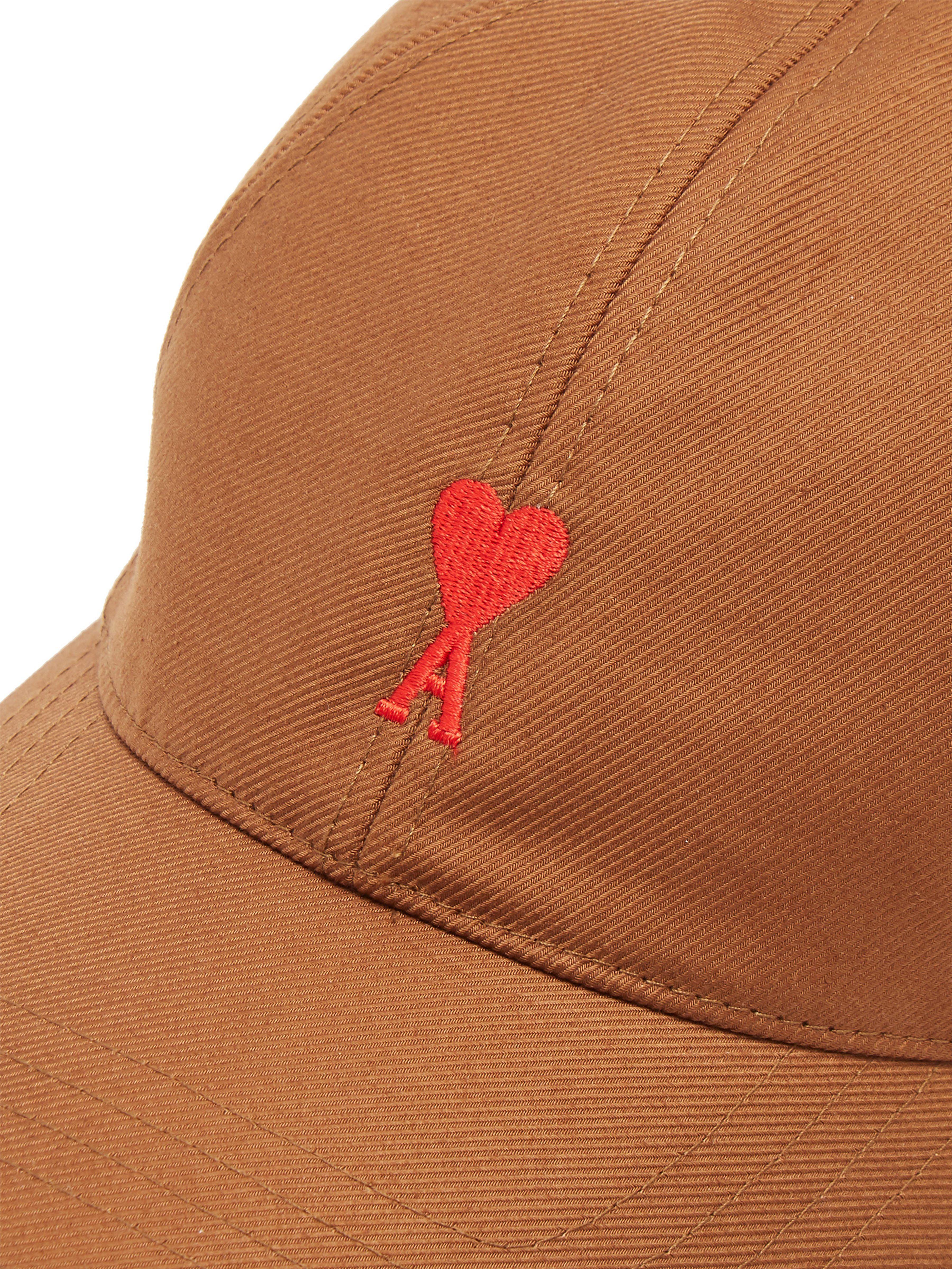 1dd5d611a06 AMI - Multicolor Logo Embroidered Cotton Baseball Cap for Men - Lyst. View  fullscreen