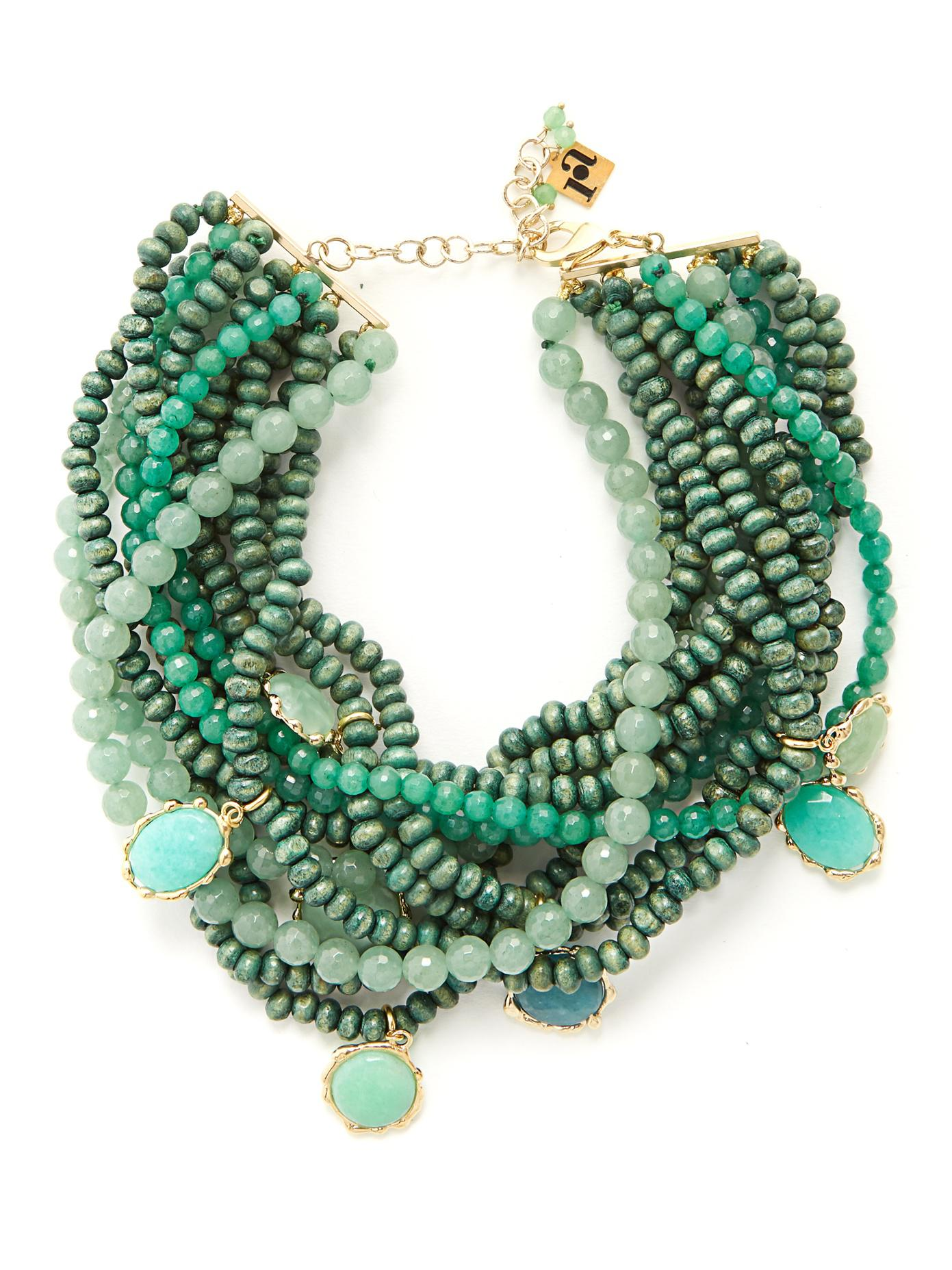 Rosantica Inganno multi-strand necklace
