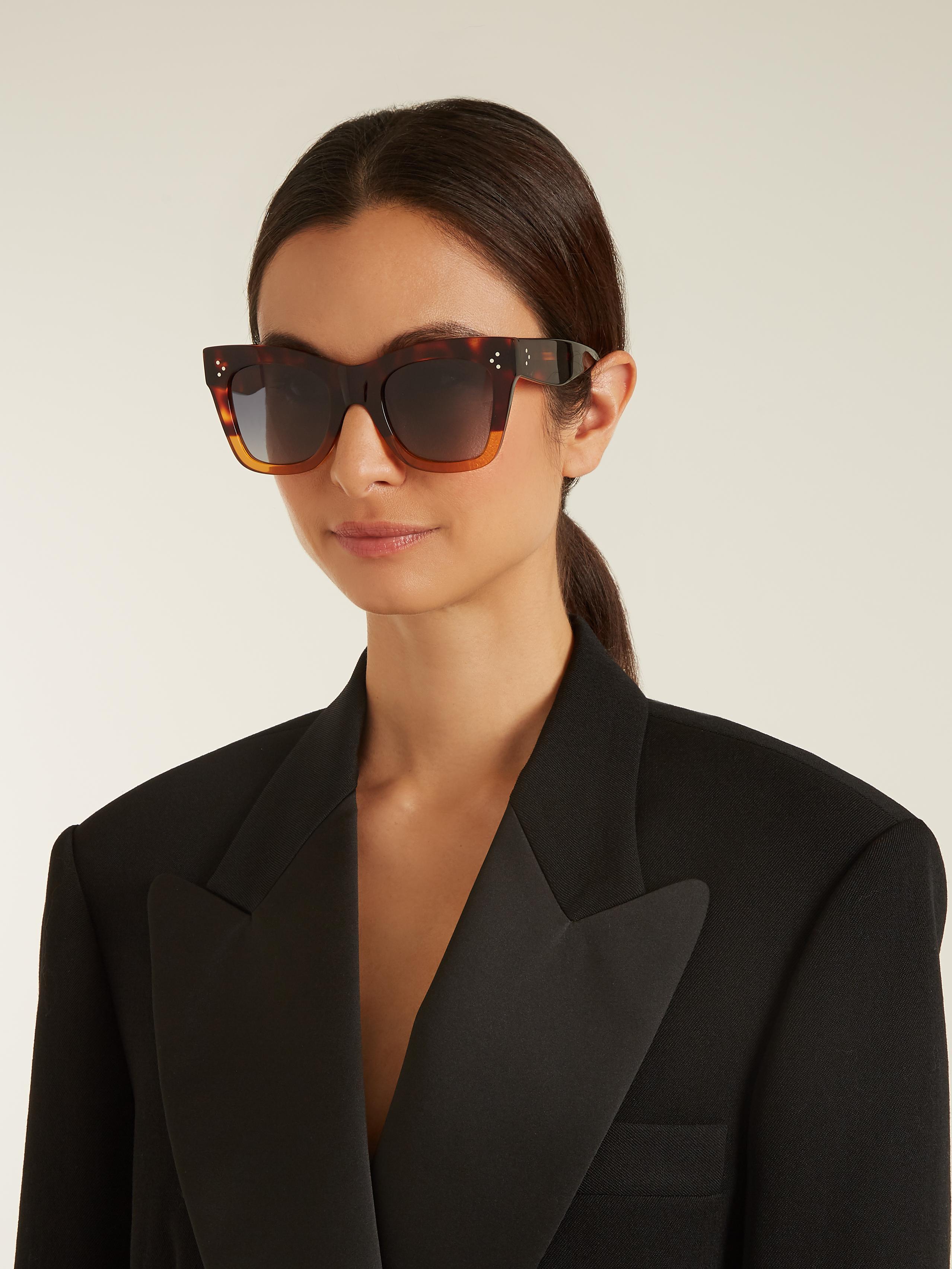 c54e271b012ed Sunglasses Cat Sunglasses Celine Sunglasses Acetate Cat eye Acetate eye  Acetate Cat Acetate eye Celine Celine ...