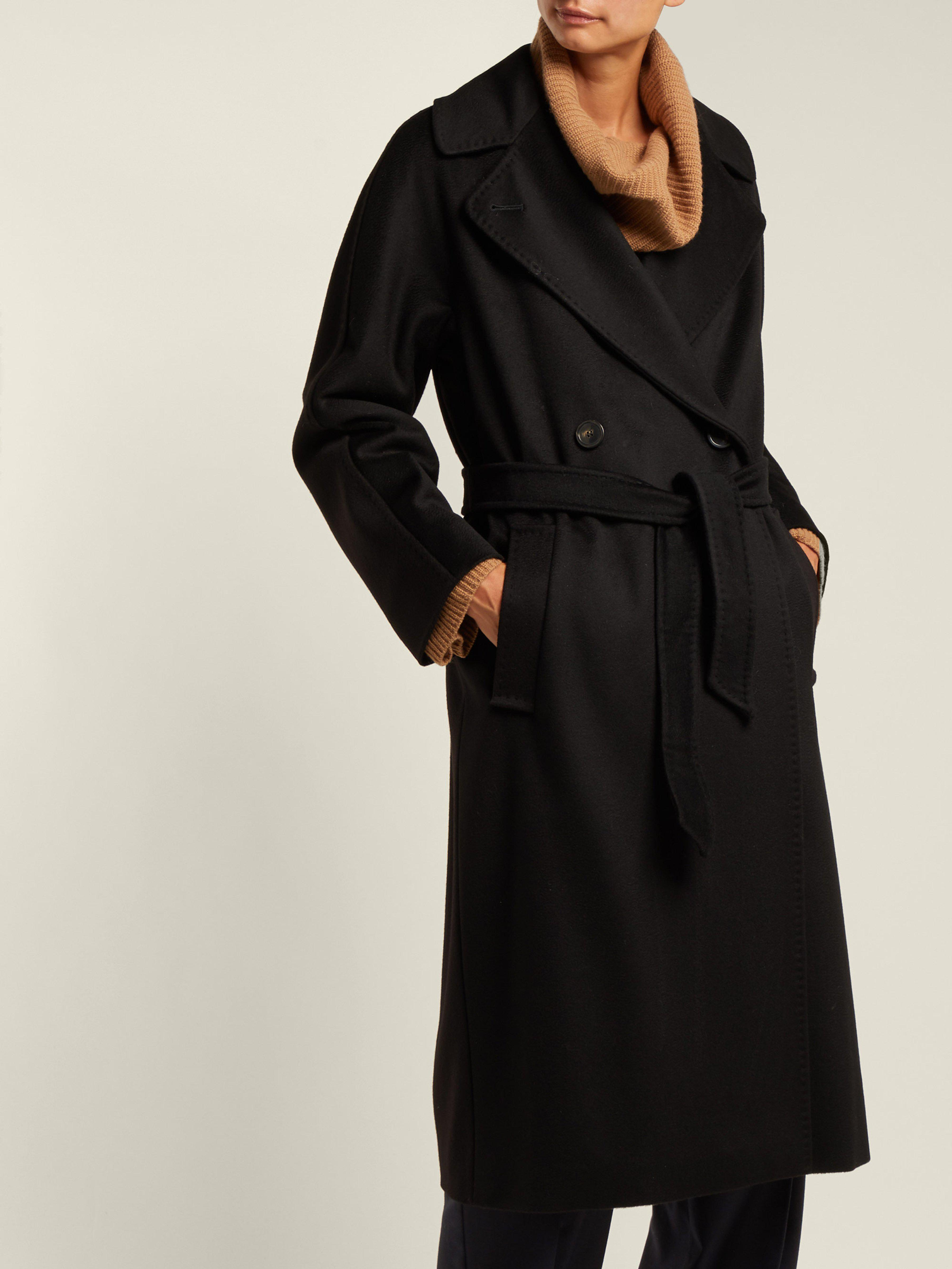 57c359321d288 Weekend by Maxmara Katai Coat in Black - Lyst
