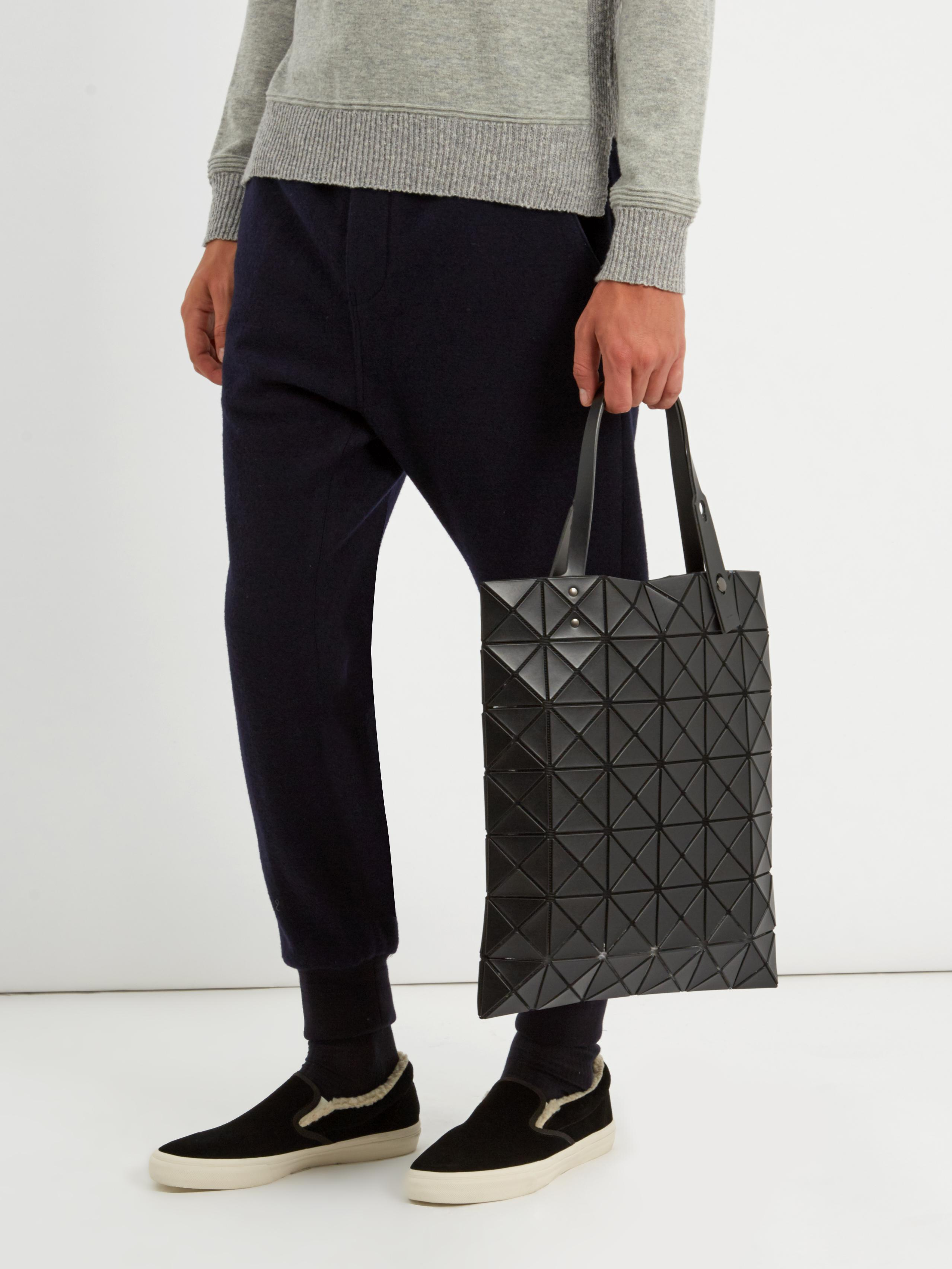 Lyst - Bao Bao Issey Miyake Lucent Matte Tote in Black 2bddceaa173e6
