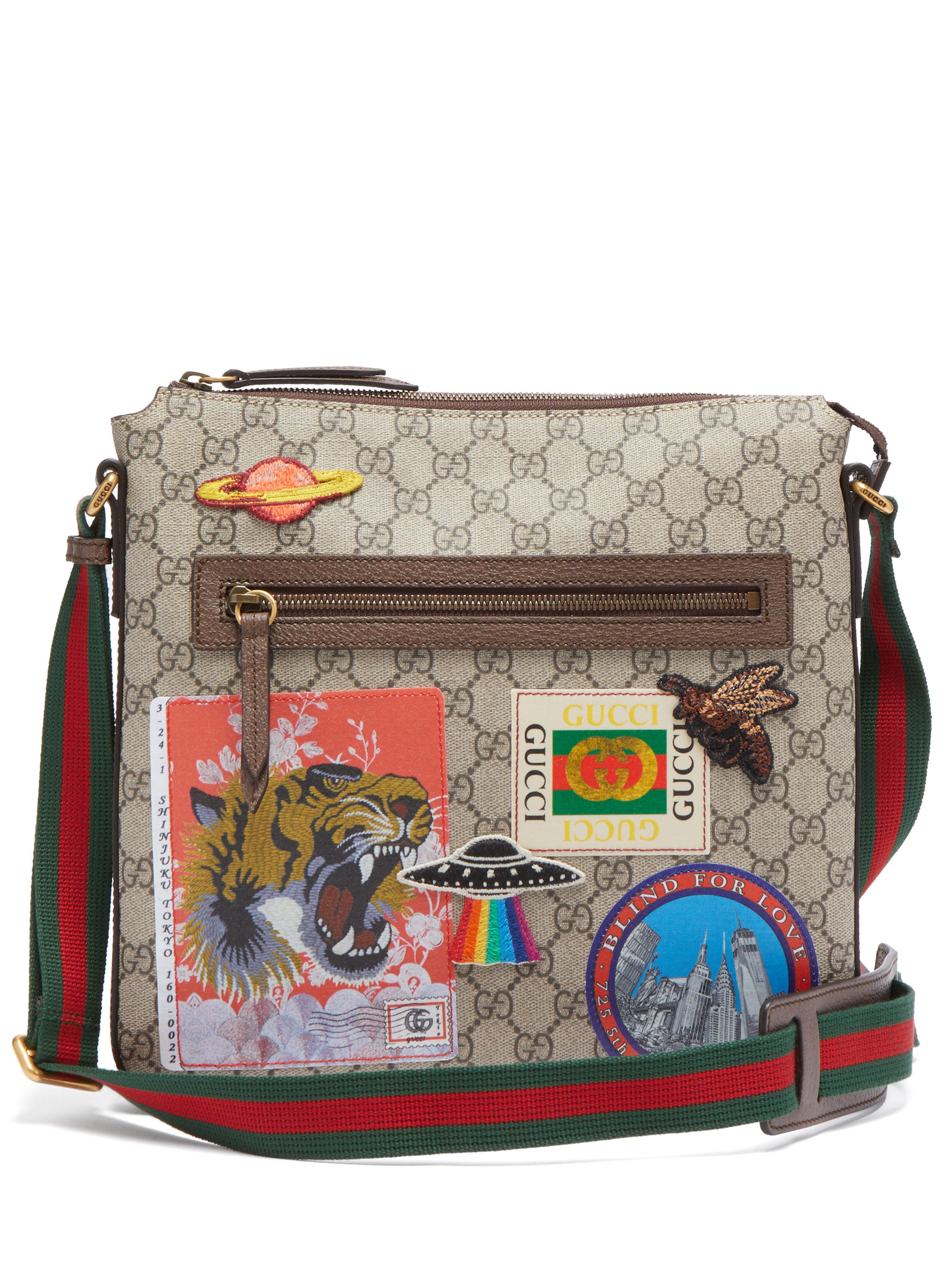 Gucci - Brown Sacoche Courrier Suprême GG for Men - Lyst. Afficher en plein  écran cb0b6054224