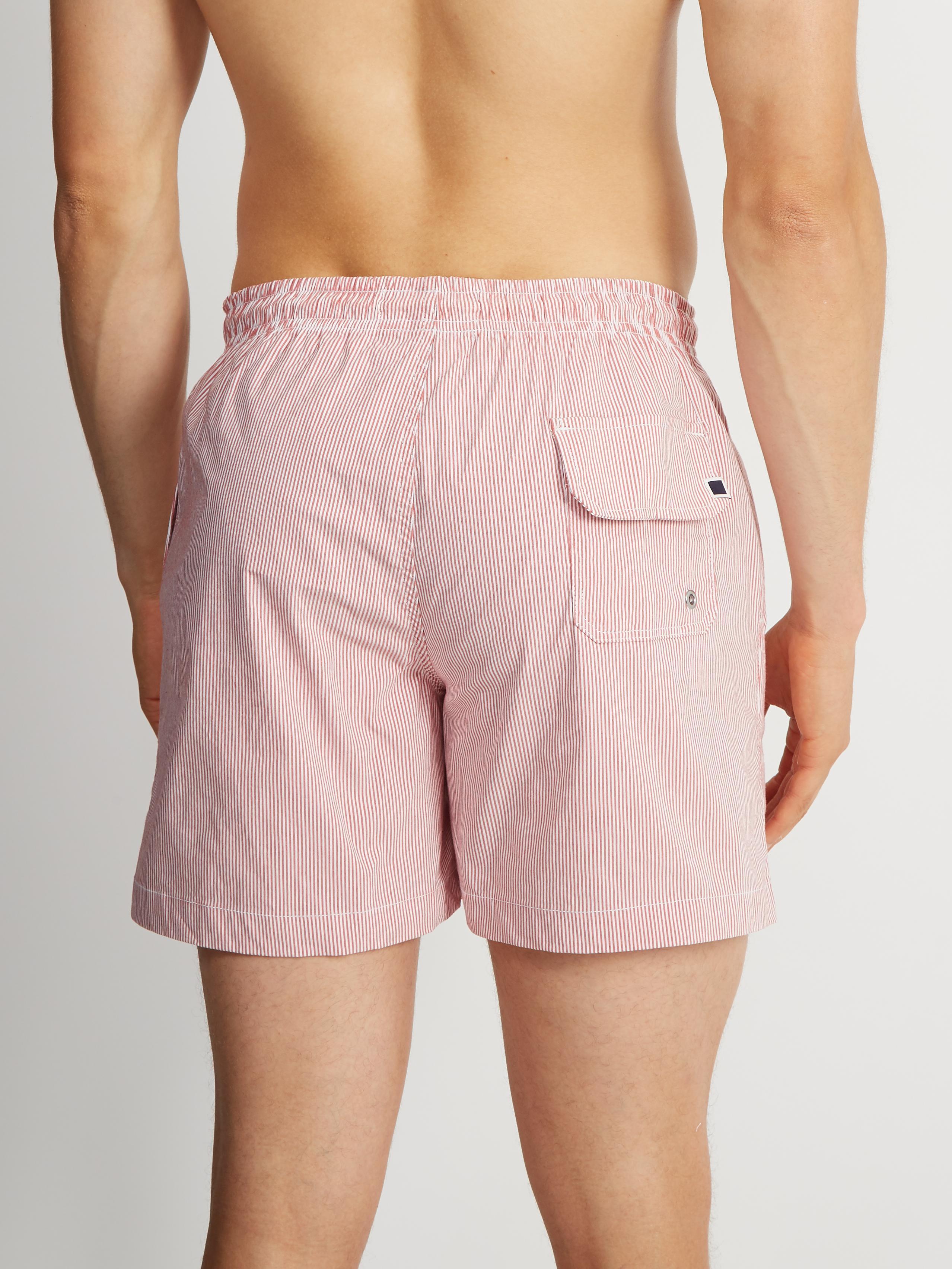 f7bab13f19 Solid & Striped The Classic Sagaponack Stripe-print Swim Shorts in ...