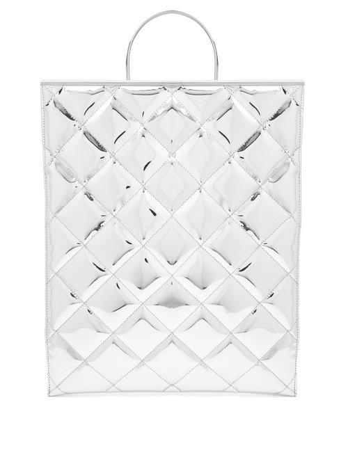 quilted shopper tote - Metallic Marques Almeida YH9ZL0
