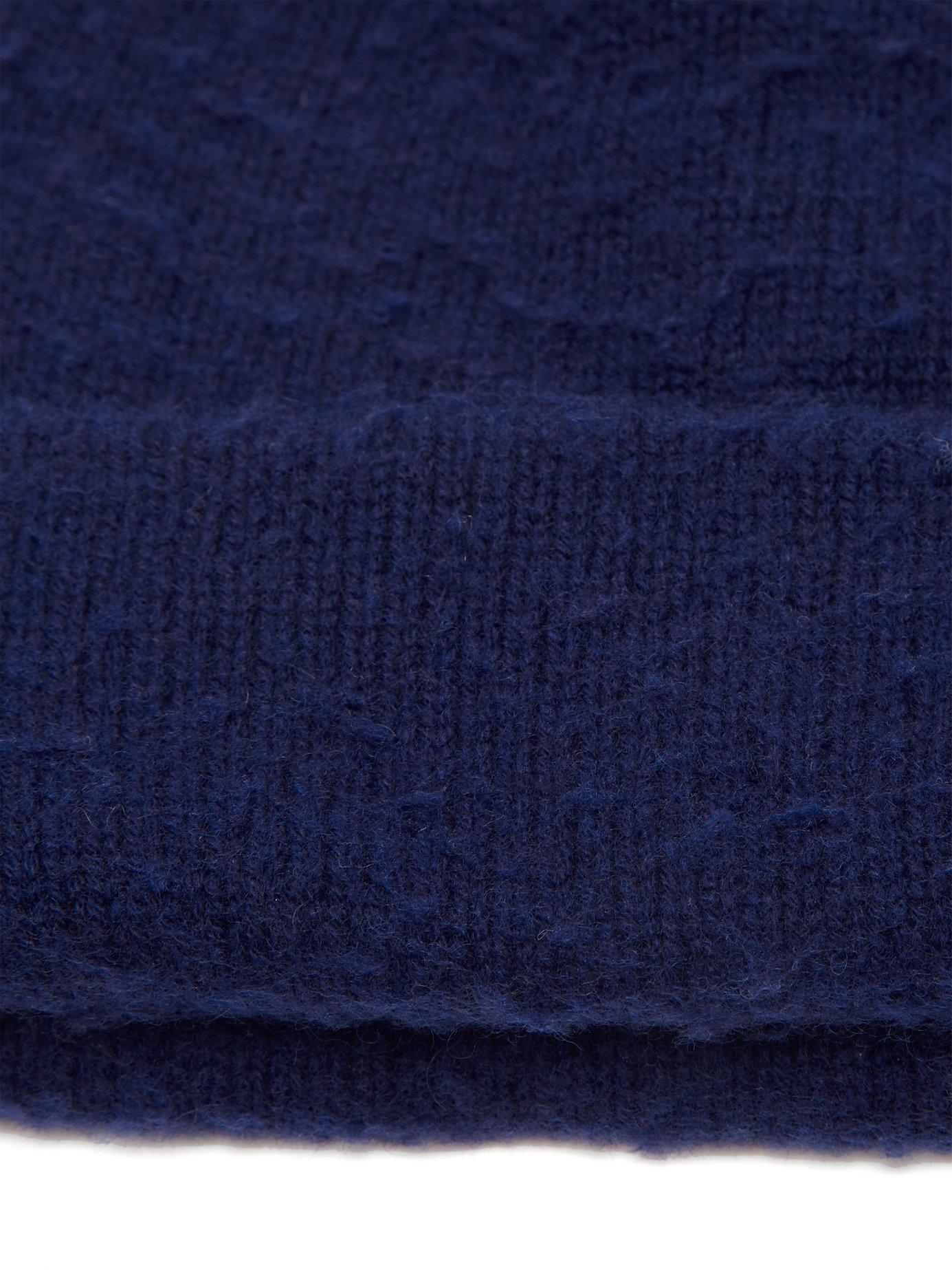 fdc8080d393 Lyst - Acne Studios Pilled Wool Blend Beanie Hat in Blue for Men