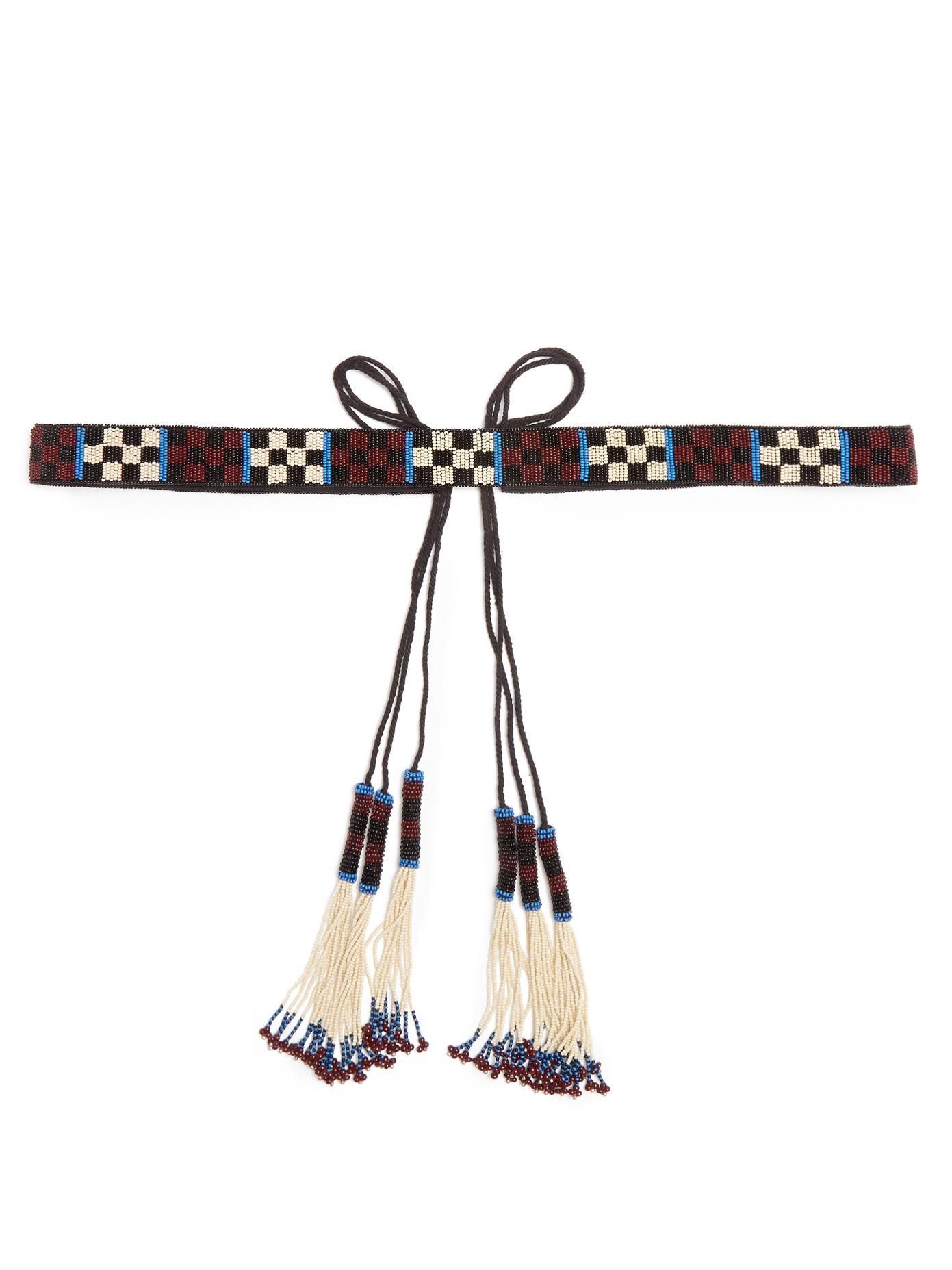 Beaded tassel tie belt Isabel Marant w1Ql5U