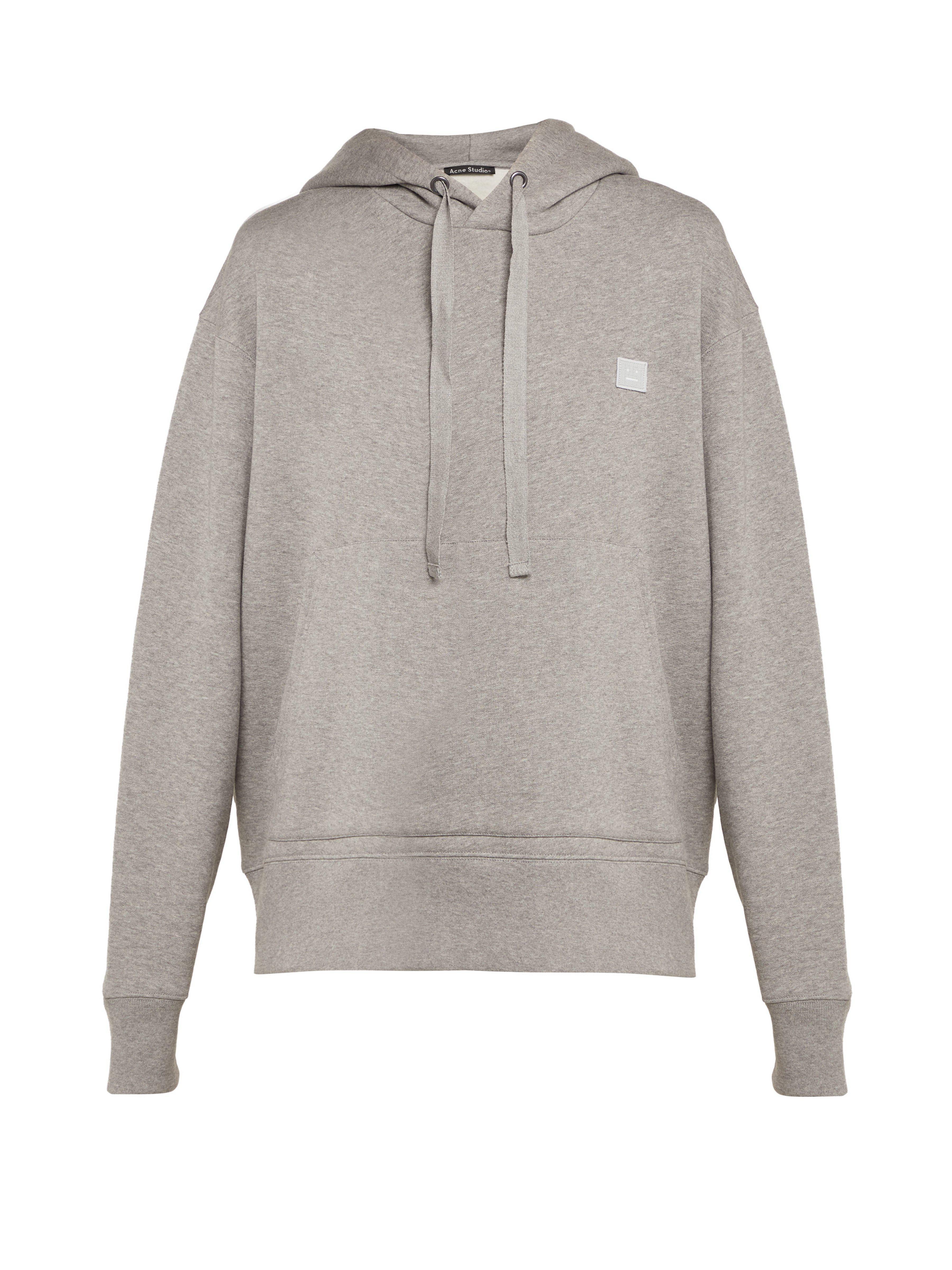 Acne - Gray Sweat-shirt en coton à capuche Ferris Face - Lyst. Afficher en  plein écran b023ccf8f7d