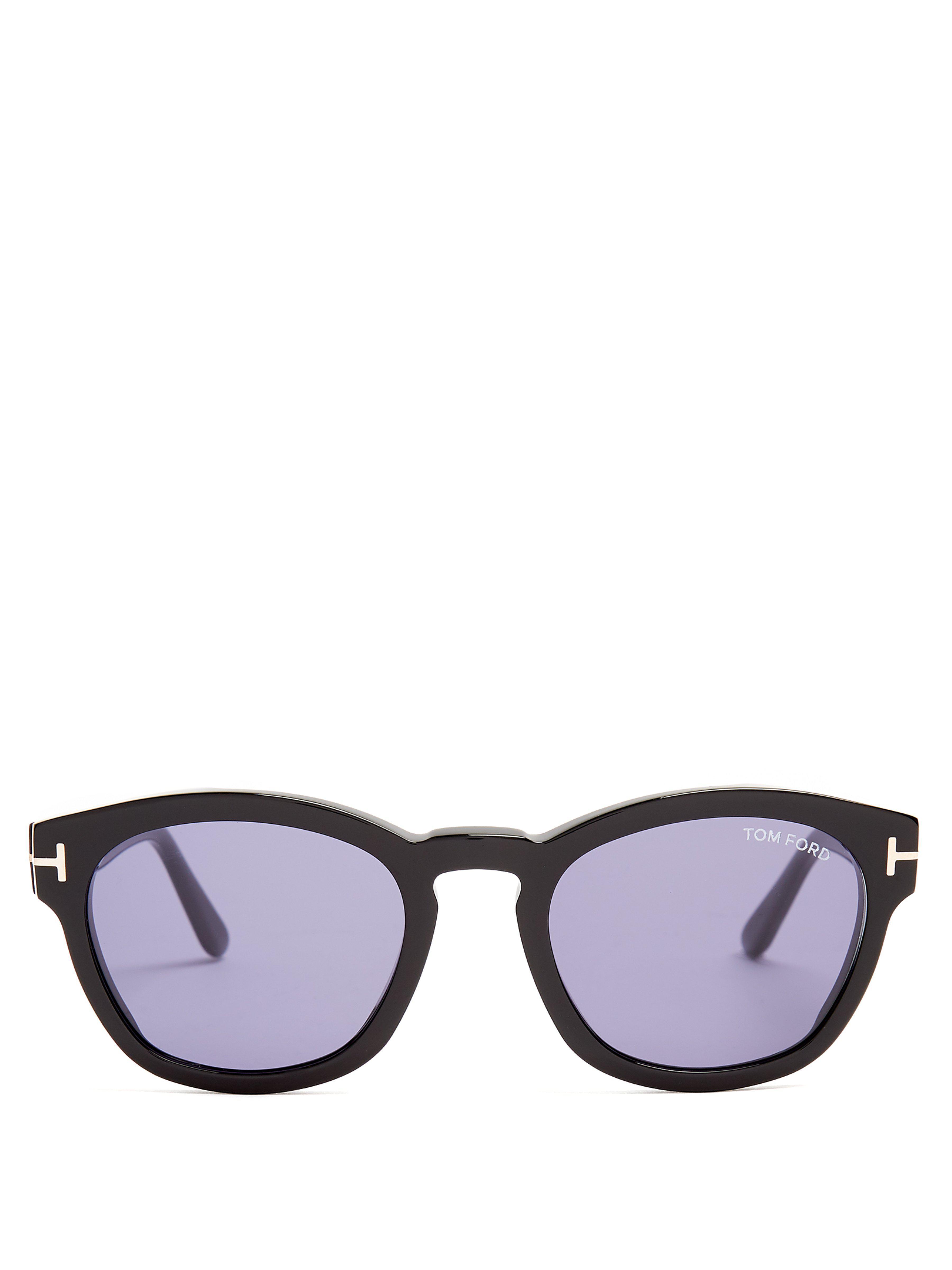 5674b56a560 Tom Ford - Black Bryan Square Frame Sunglasses for Men - Lyst. View  fullscreen