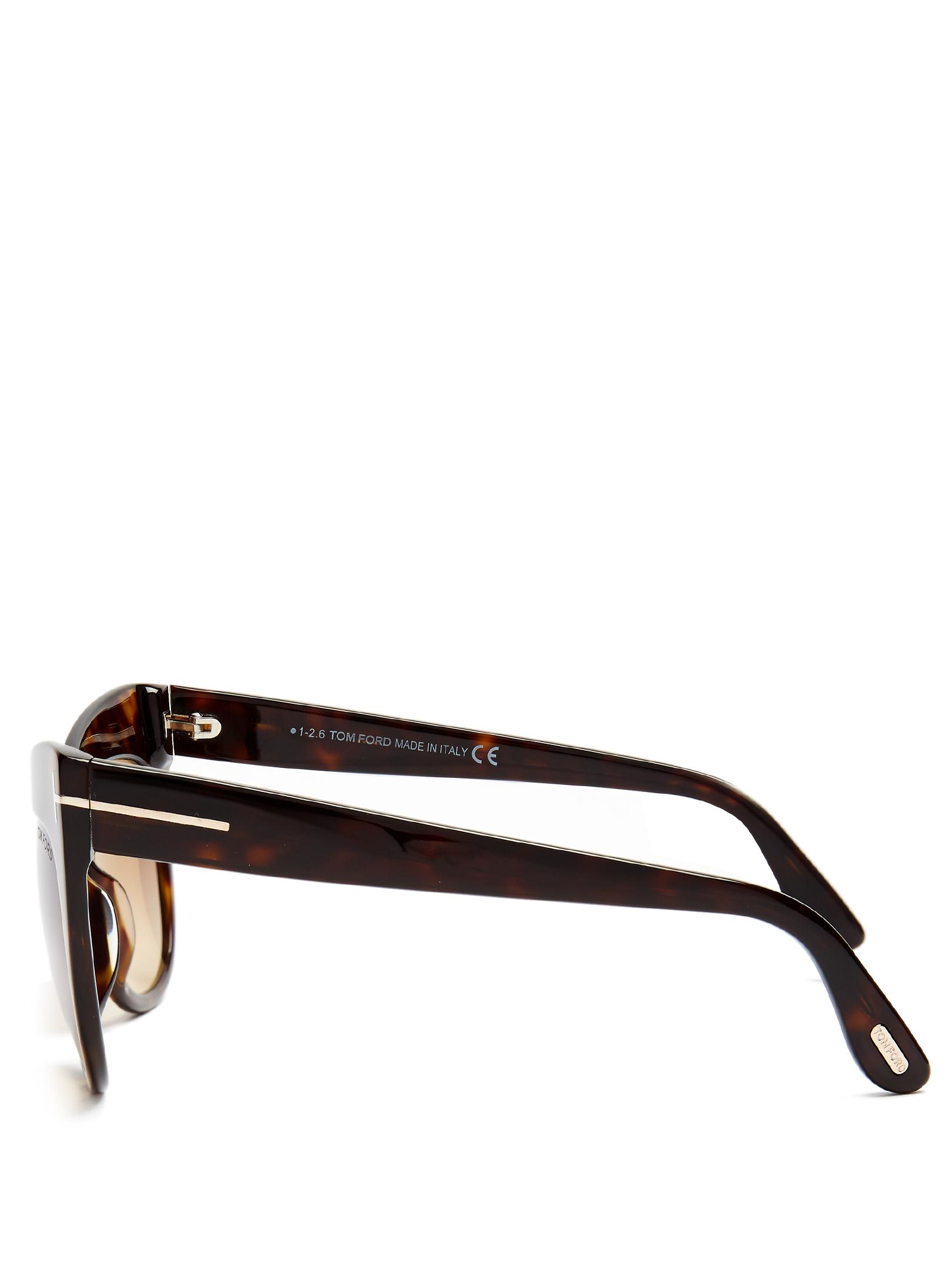 7056b680c71 Gallery. Previously sold at  MATCHESFASHION.COM · Women s Tom Ford Cat Eye  ...