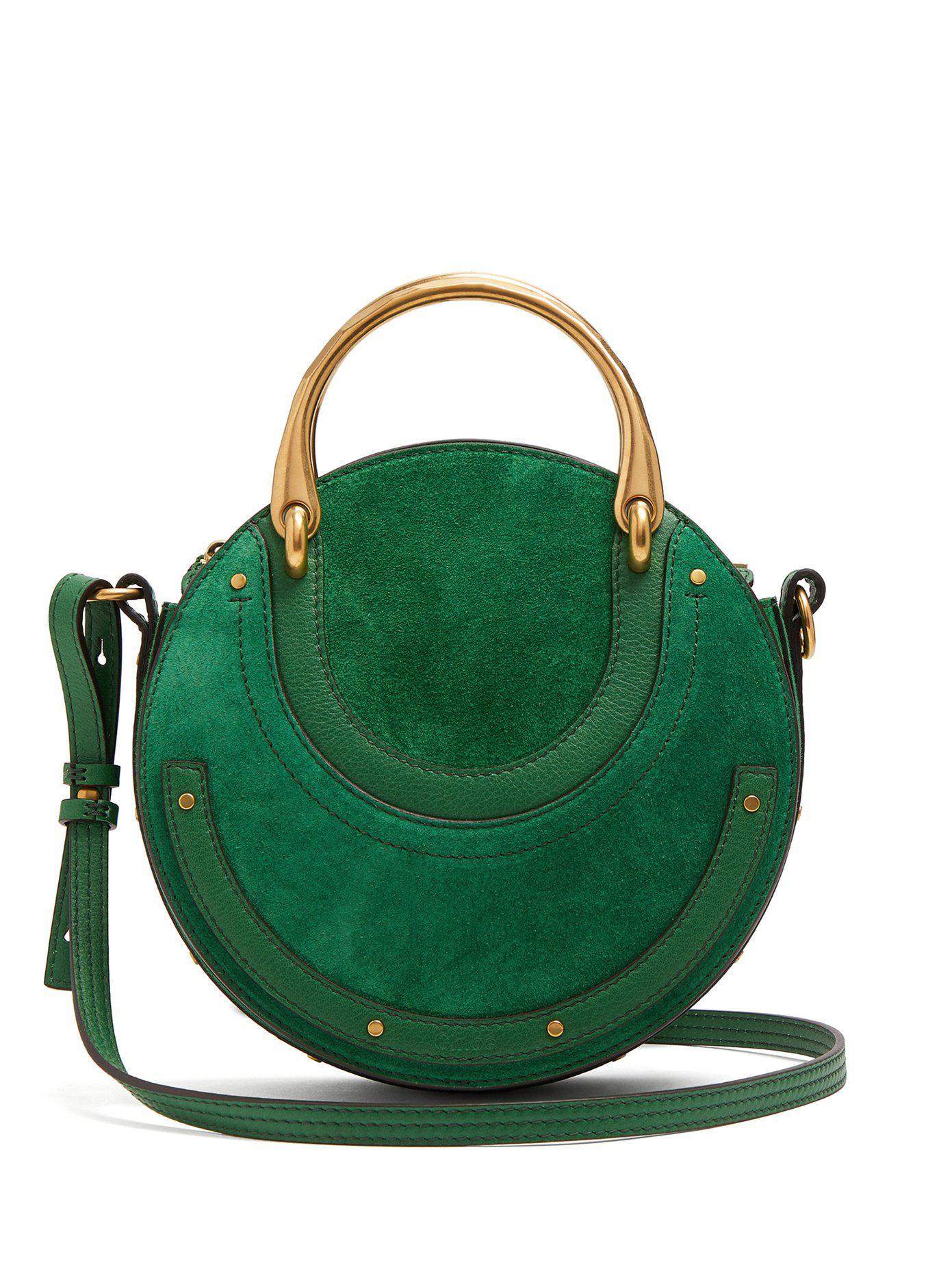 Lyst - Sac porté épaule Pixie Chloé en coloris Vert 8f75ff3d04d