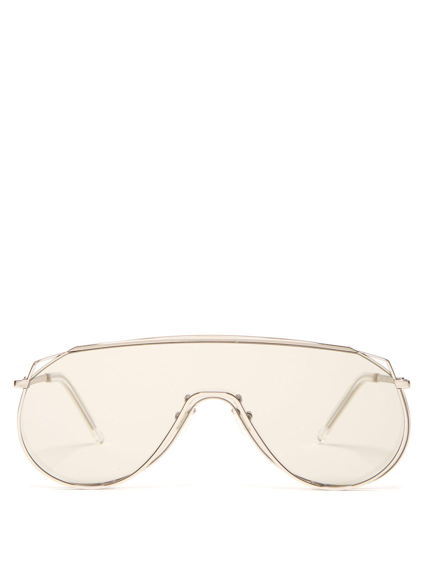 086d3ab4159d Lyst - Gentle Monster Afix 02 (k) Sunglasses in Metallic for Men