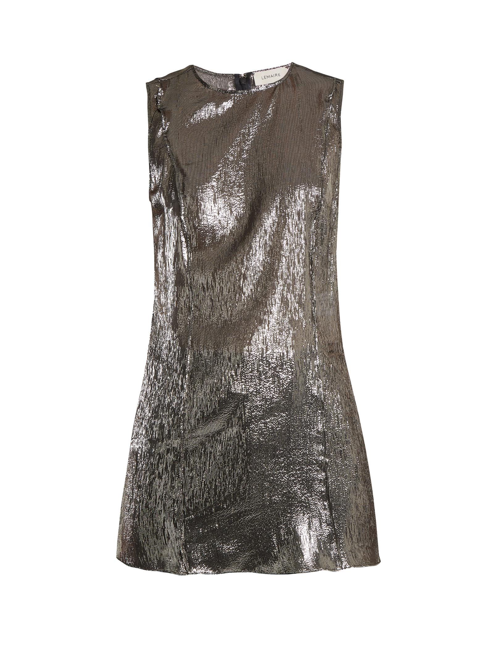 6fabe043055b Lemaire Round-neck Sleeveless Top in Metallic - Lyst