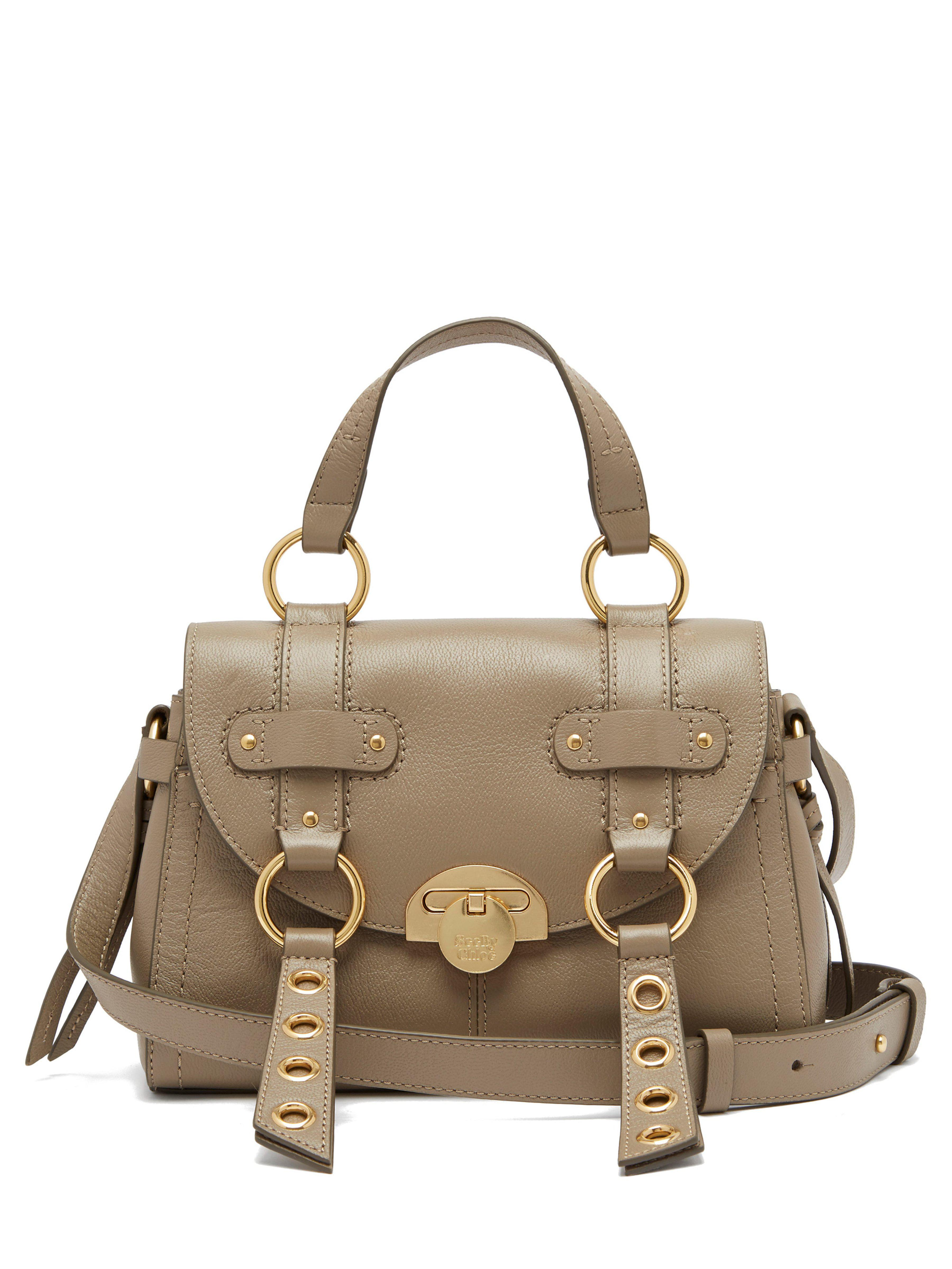 00329c8ae0 See By Chloé Allen Small Satchel Bag in Gray - Lyst