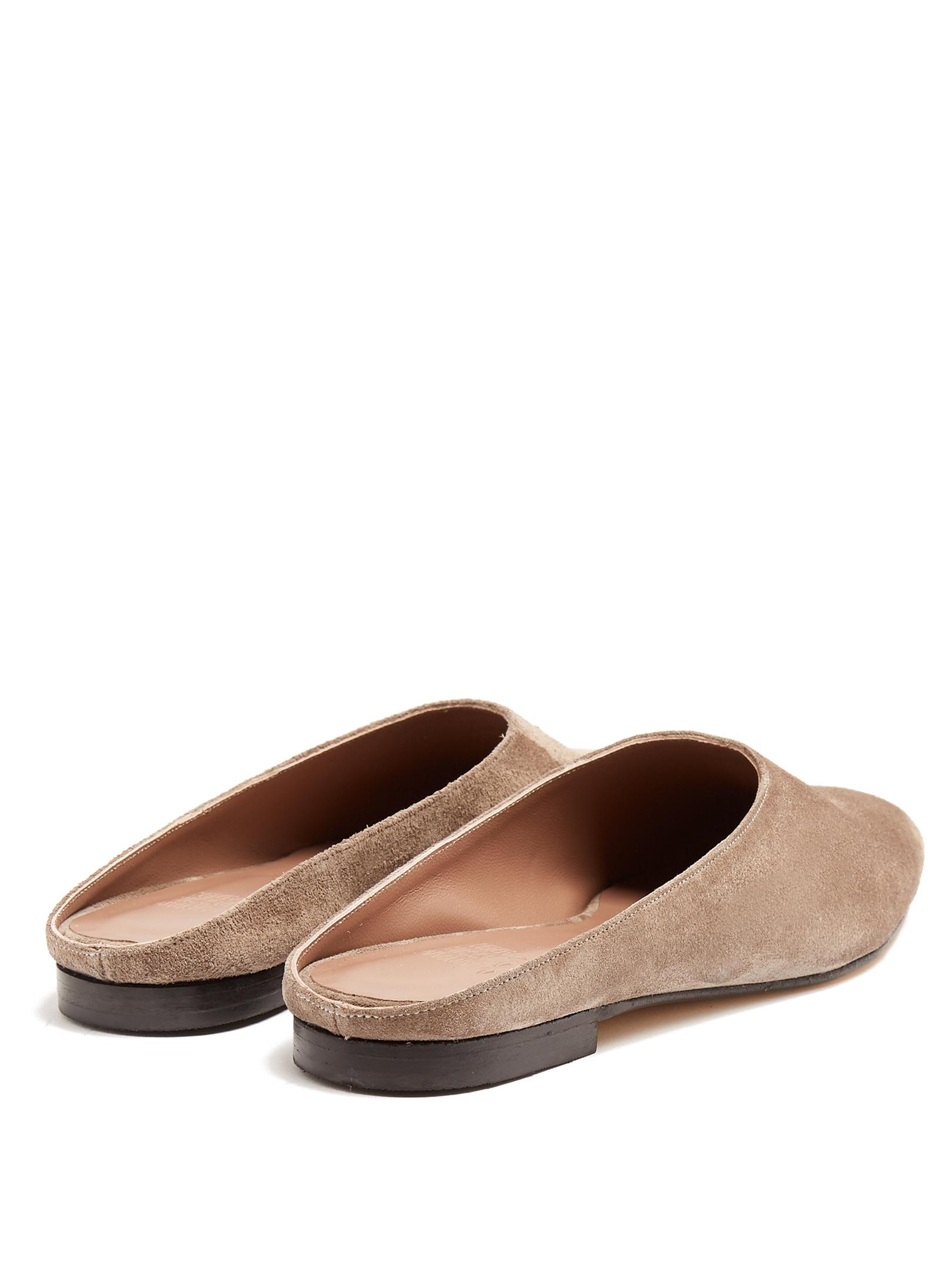 Excellent Cheap Online Maryam backless suede loafers Maryam Nassir Zadeh Sast Sale Online Outlet Exclusive pGcoAQOg9