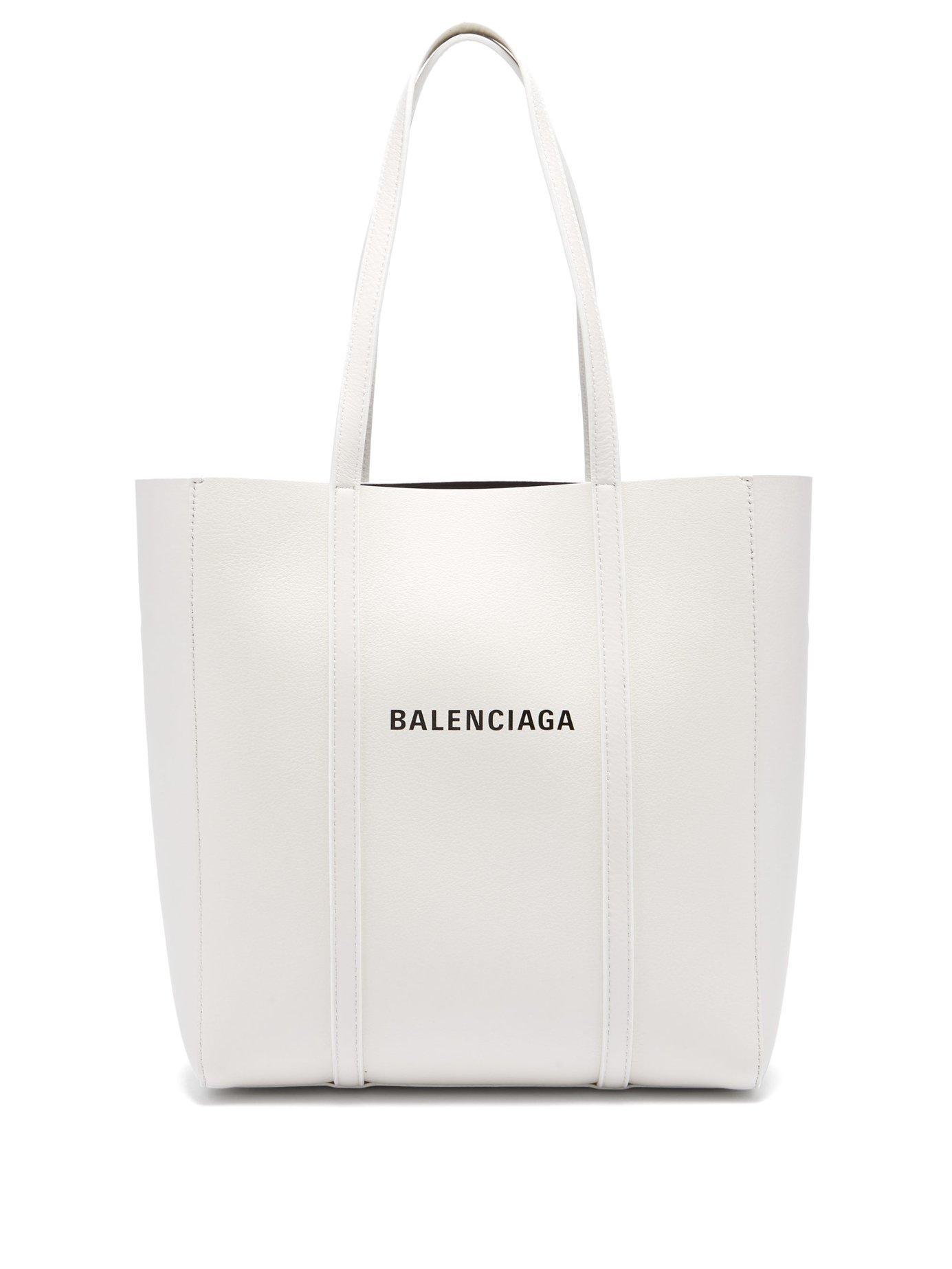 65a0e67d4022 Balenciaga - White Everyday Xs Leather Tote - Lyst. View fullscreen