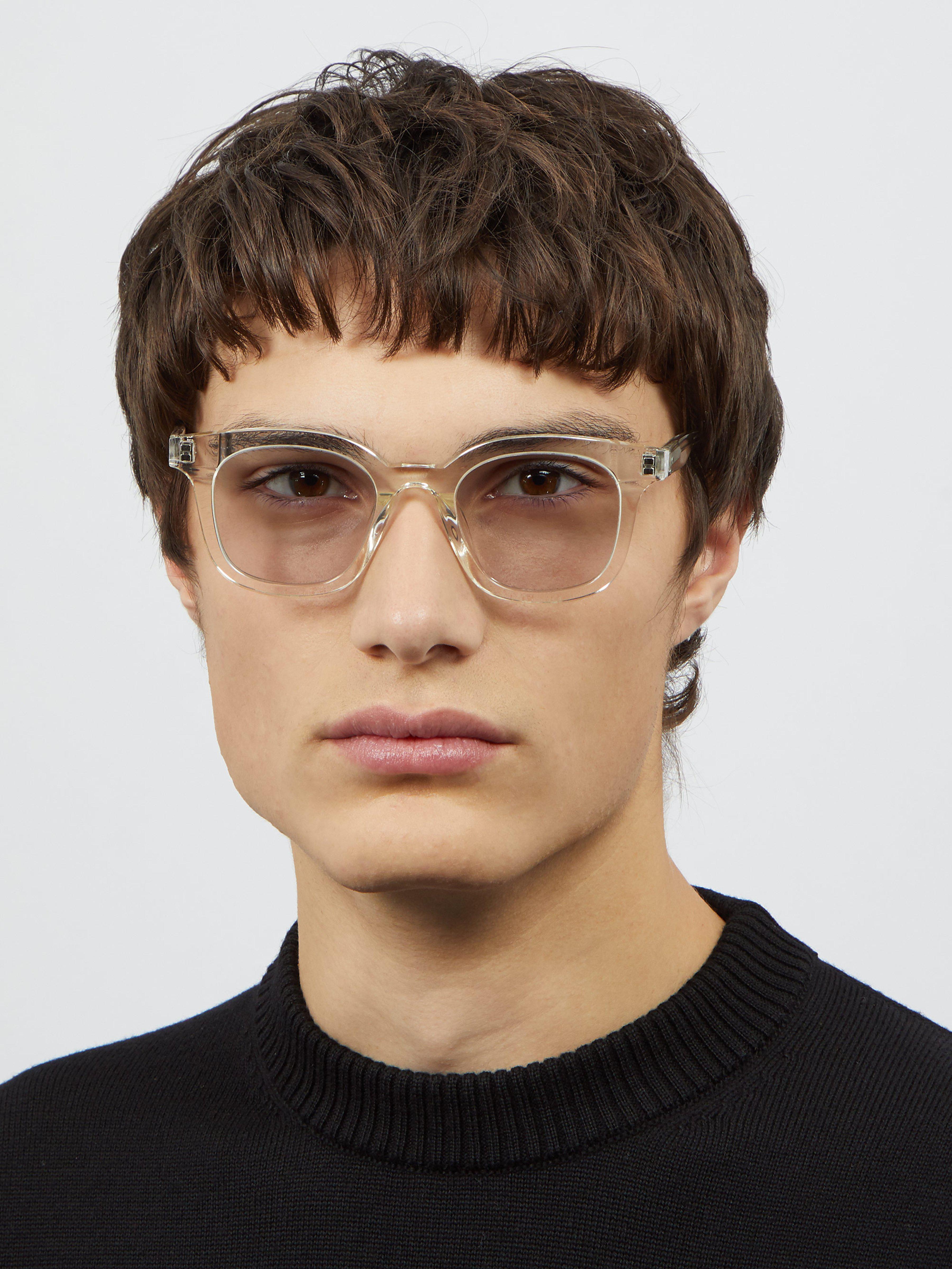 eafe17e4c506 Gentle Monster Dal Lake Acetate Glasses in White for Men - Lyst