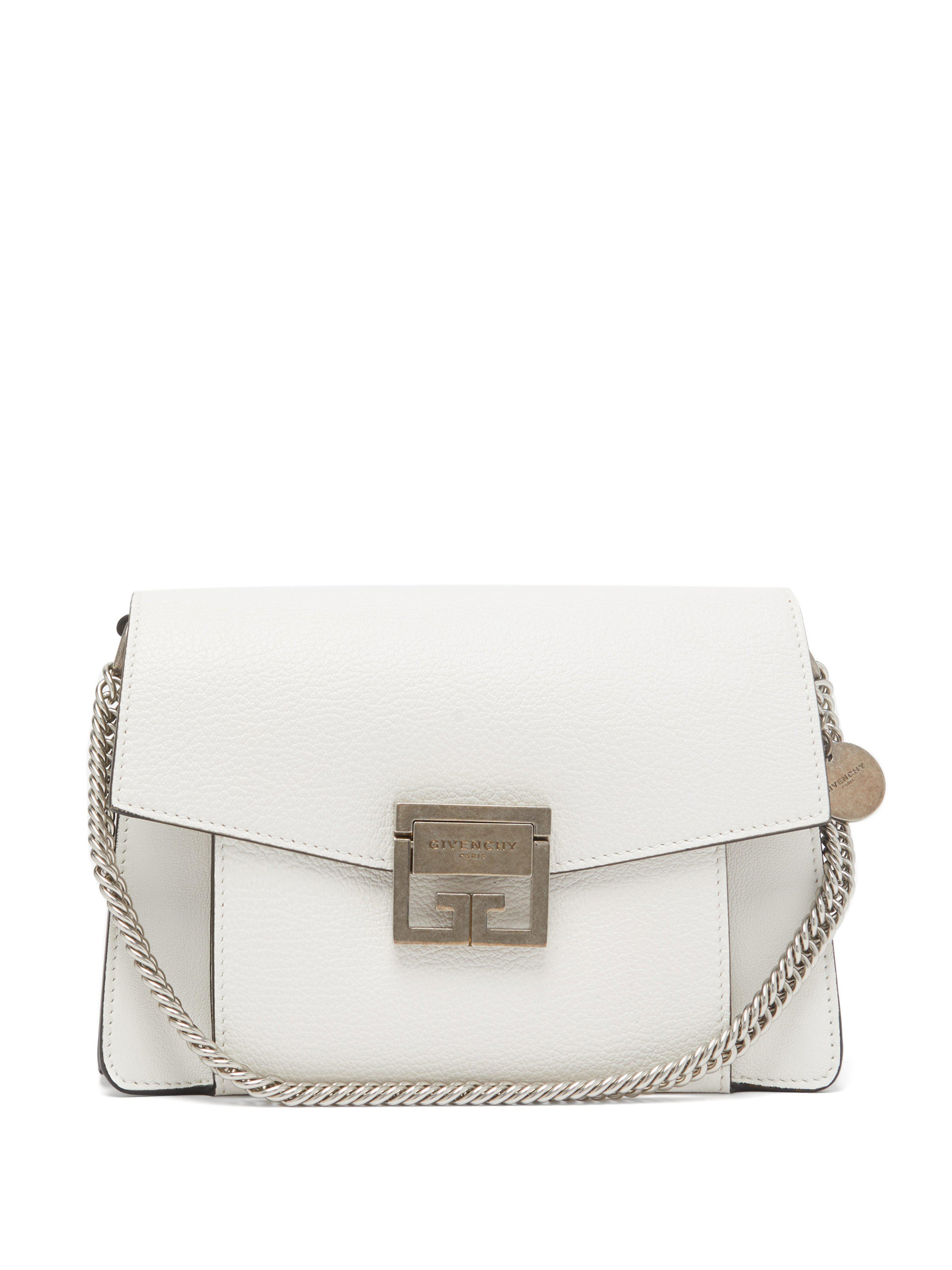 d617c79984a05 Givenchy - White Gv3 Small Leather Cross Body Bag - Lyst. View fullscreen