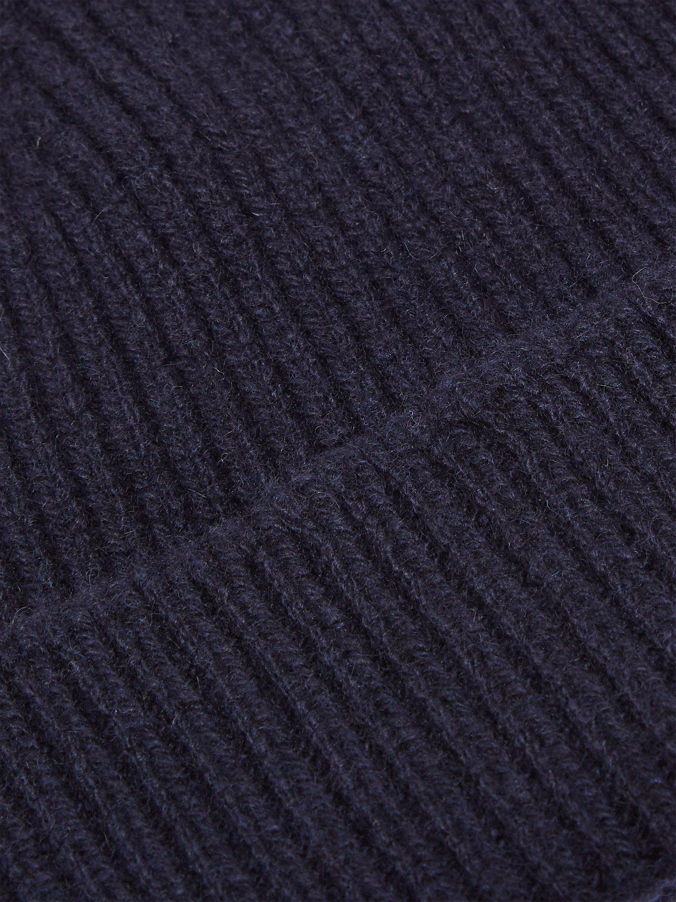 6fb44b0bdb1 Lyst - Paul Smith Cashmere And Merino Wool Blend Beanie Hat in Blue for Men  - Save 6.666666666666671%