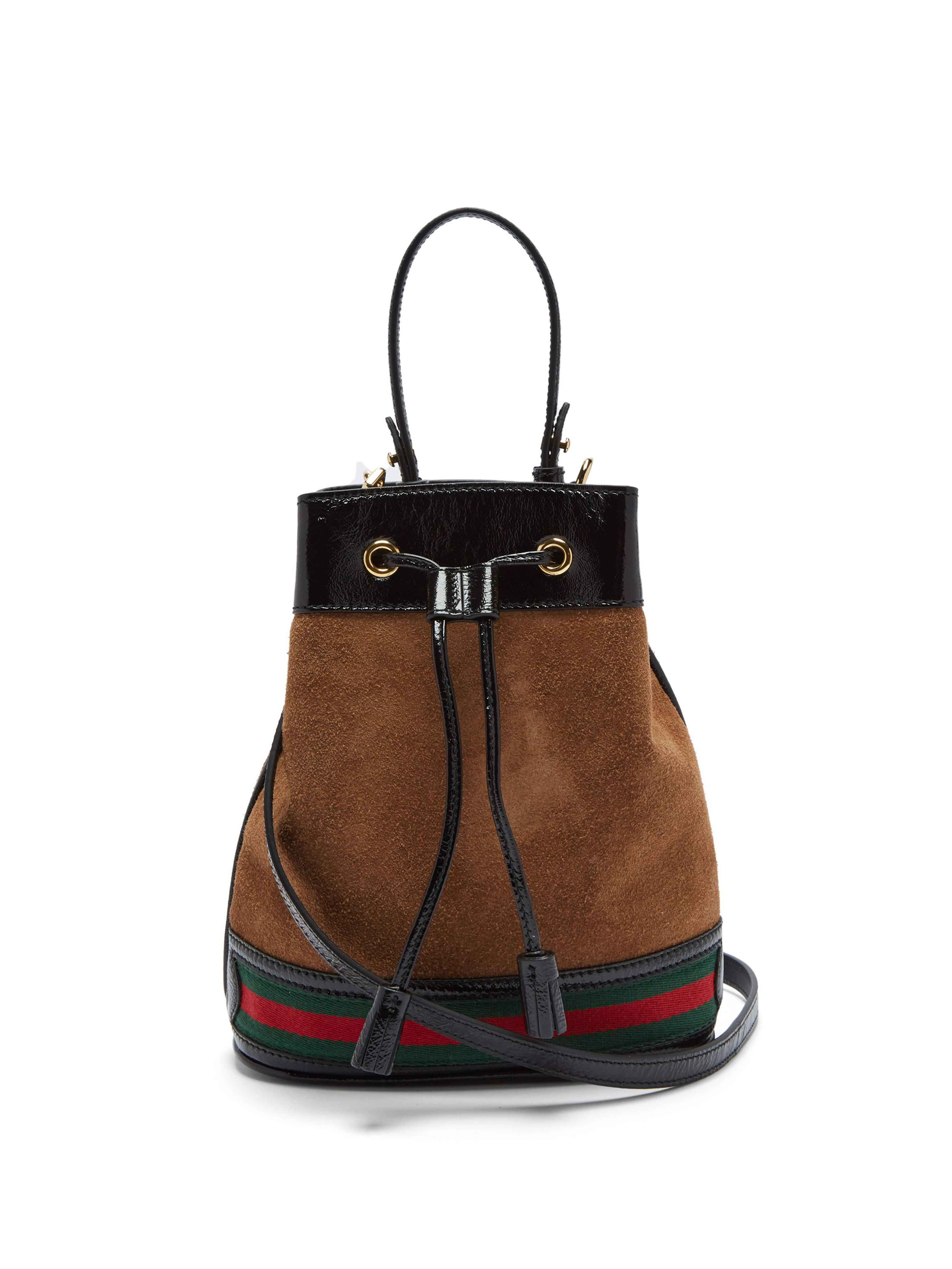 Gucci. Women s Ophidia Suede Bucket Bag 39cba7001c