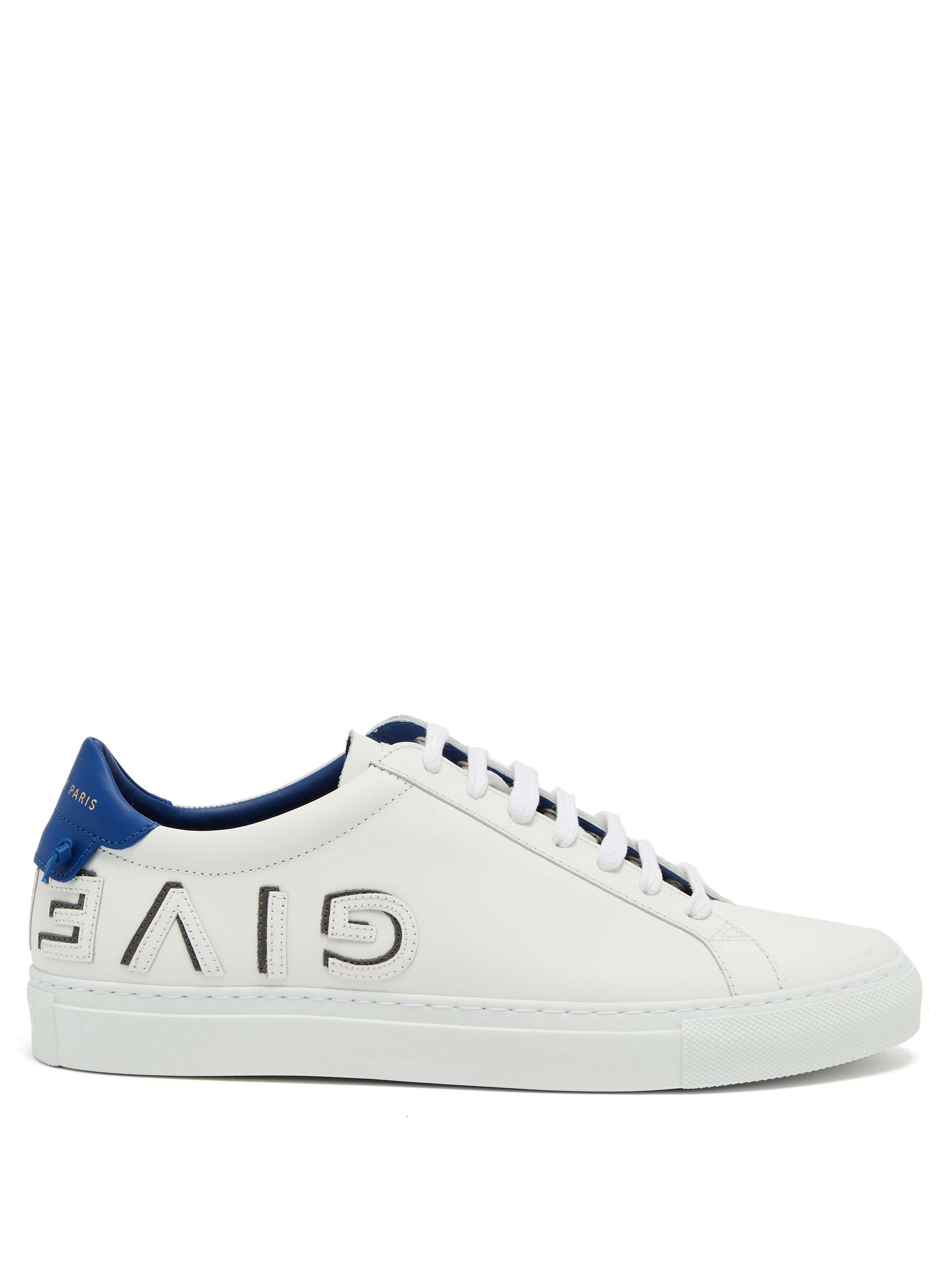 a4a4b8330dbc81 Lyst - Baskets basses en cuir Urban Street Givenchy en coloris Blanc