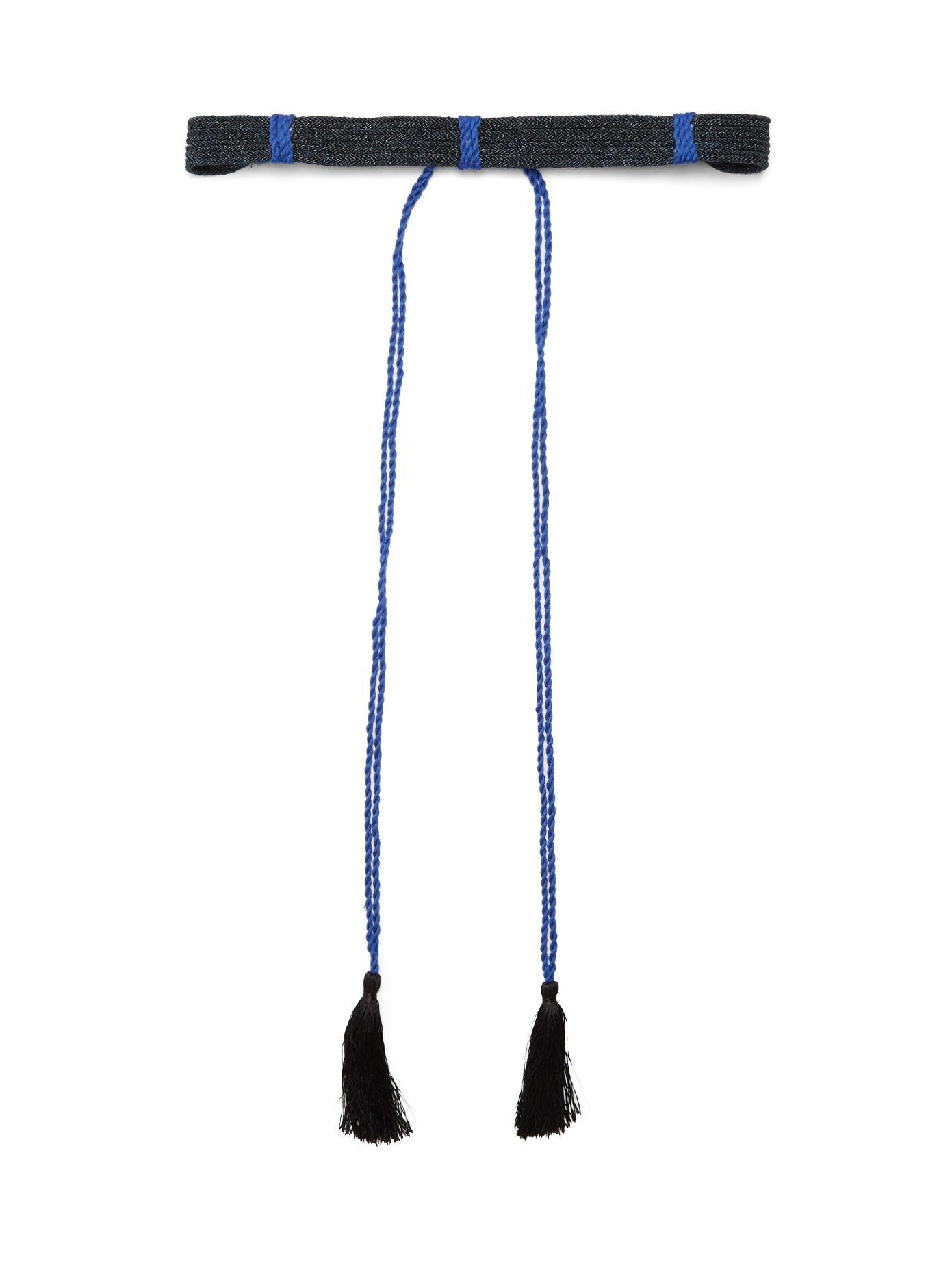 Self-tie woven belt Love Binetti 0bVD0