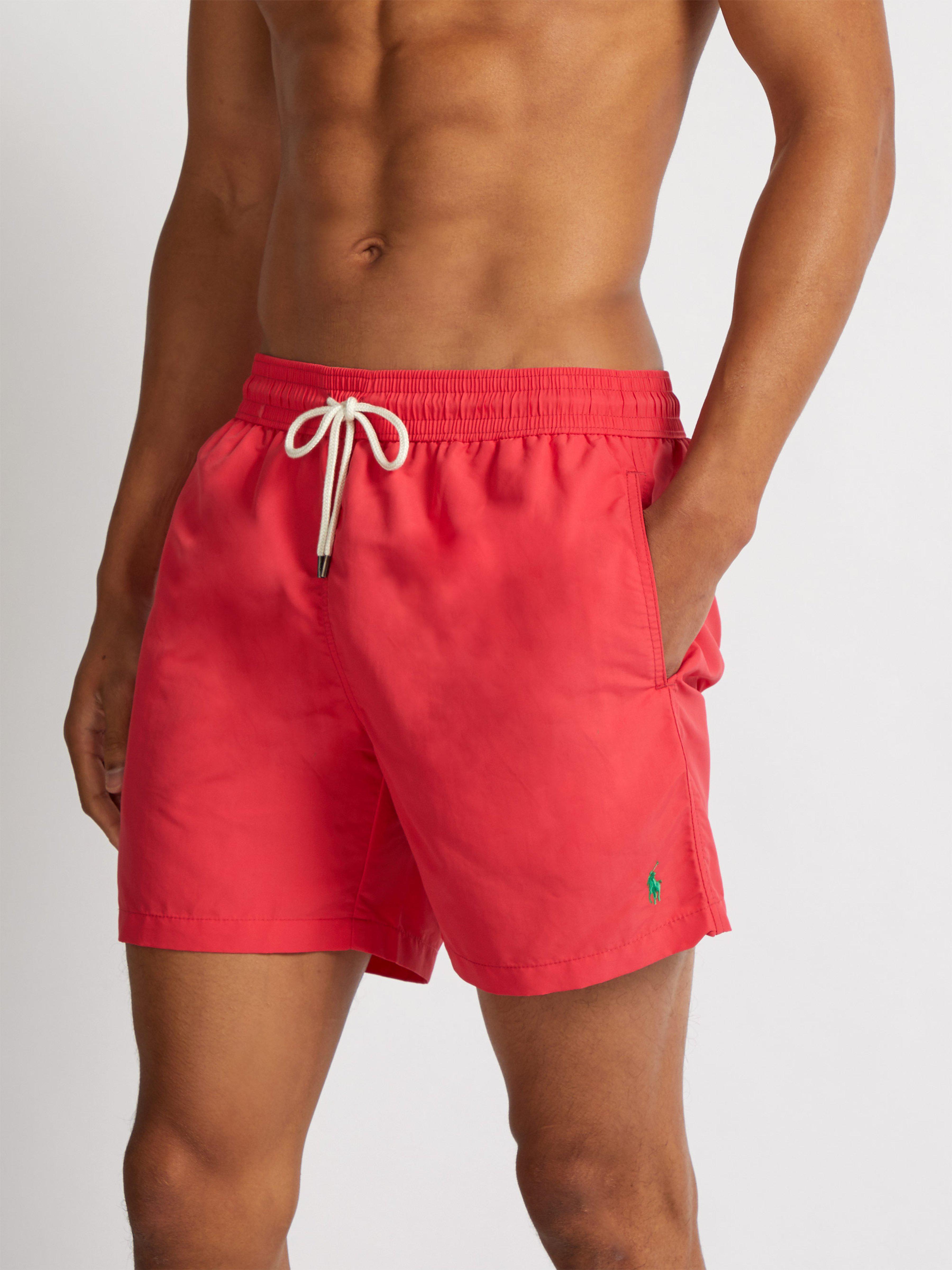 3fa88ad9eb1b3 ... best price polo ralph lauren logo embroidered swim shorts for men lyst.  view fullscreen 220ea
