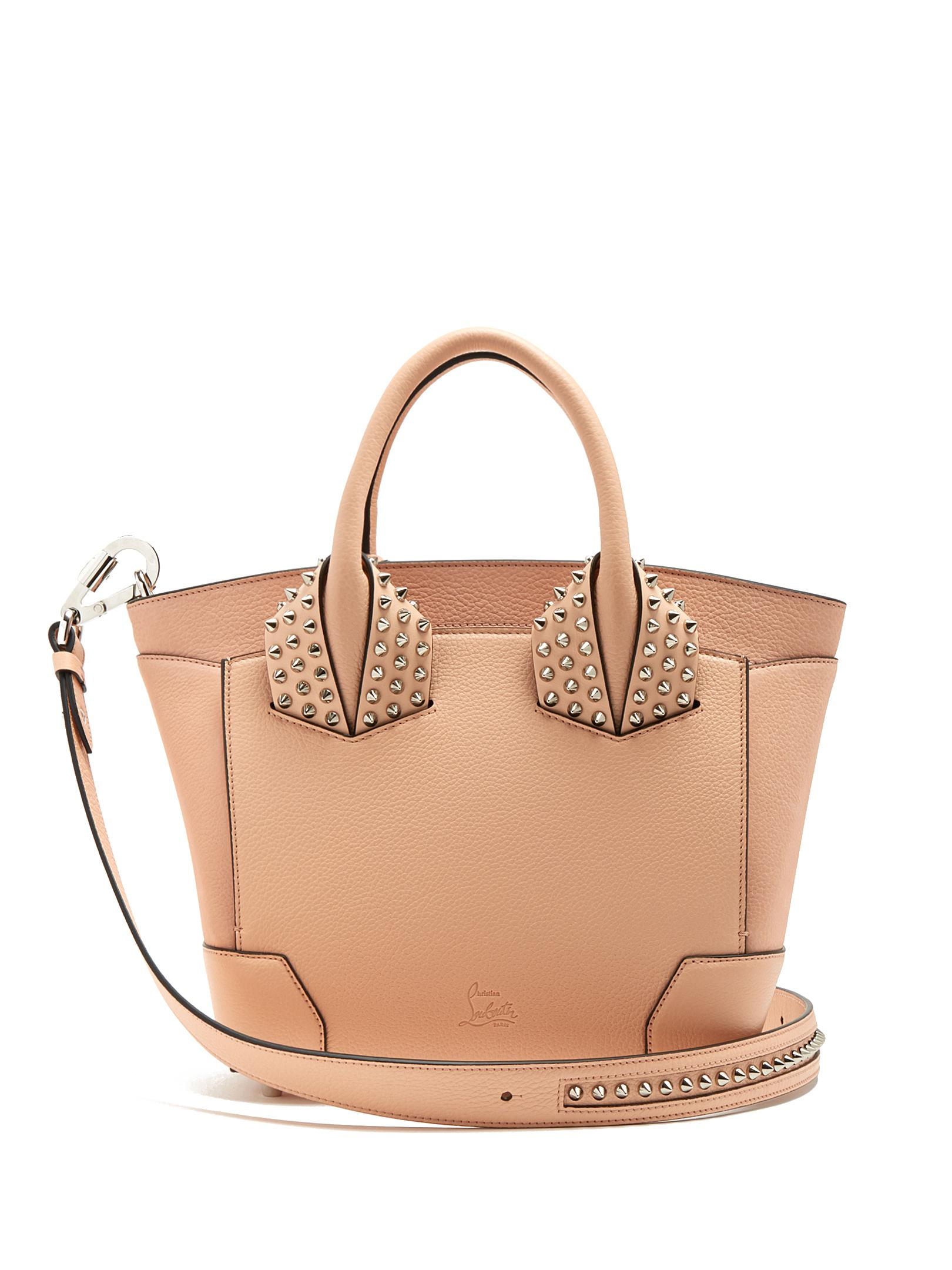 98c64e59b9f Christian Louboutin Eloise Small Leather Cross-body Bag in Pink - Lyst