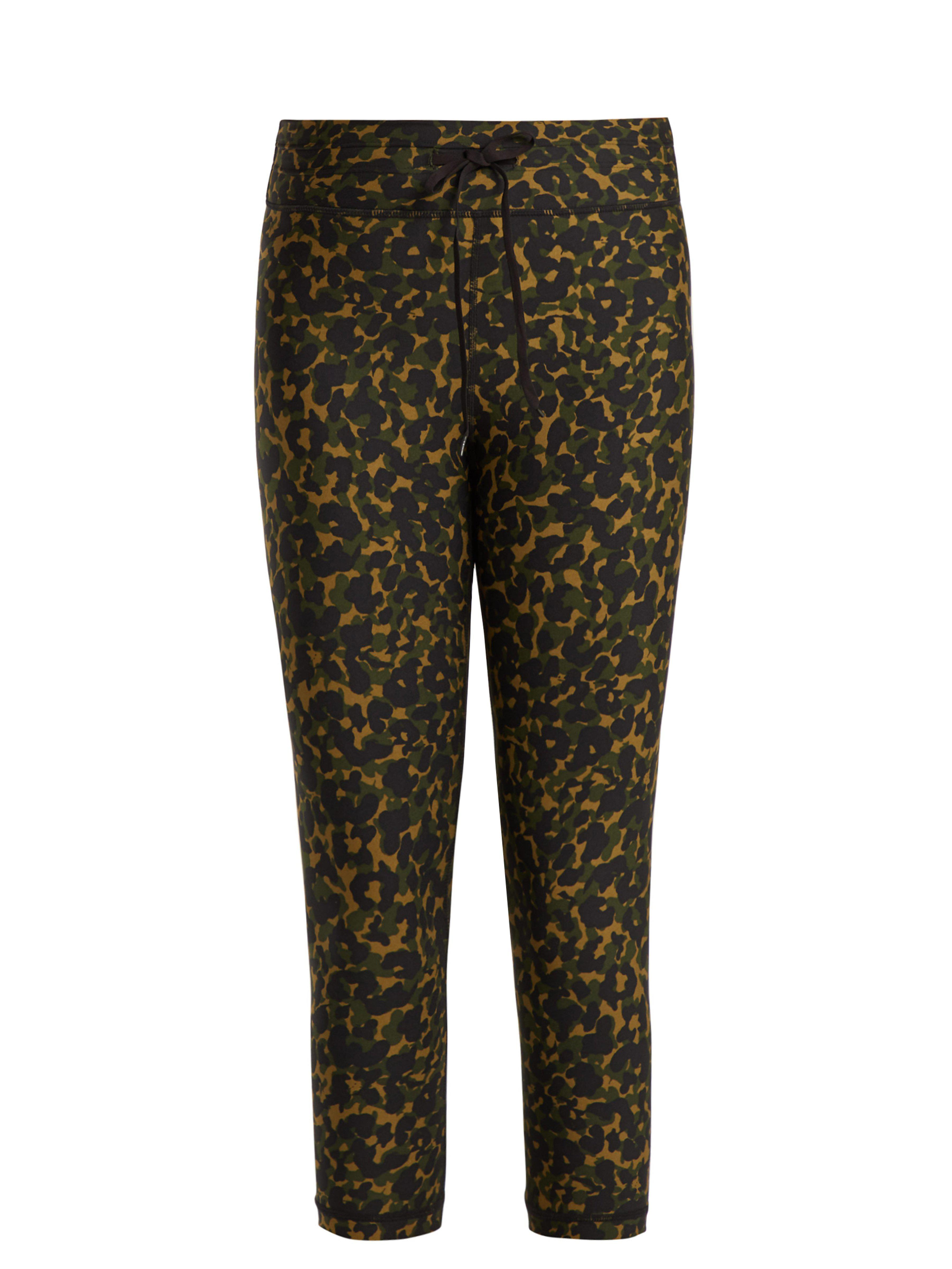 e3c1fe760c8b2 The Upside Nyc Leopard Camo Print Leggings in Green - Lyst