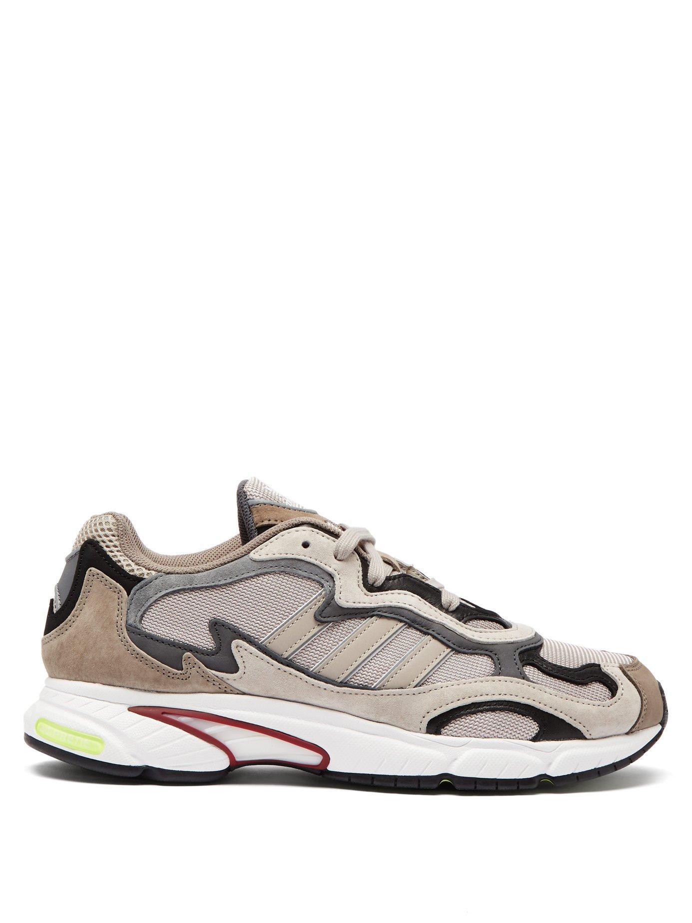 best cheap 393cf 73f37 adidas Originals. Men s Brown Temper Run Suede Low Top Trainers