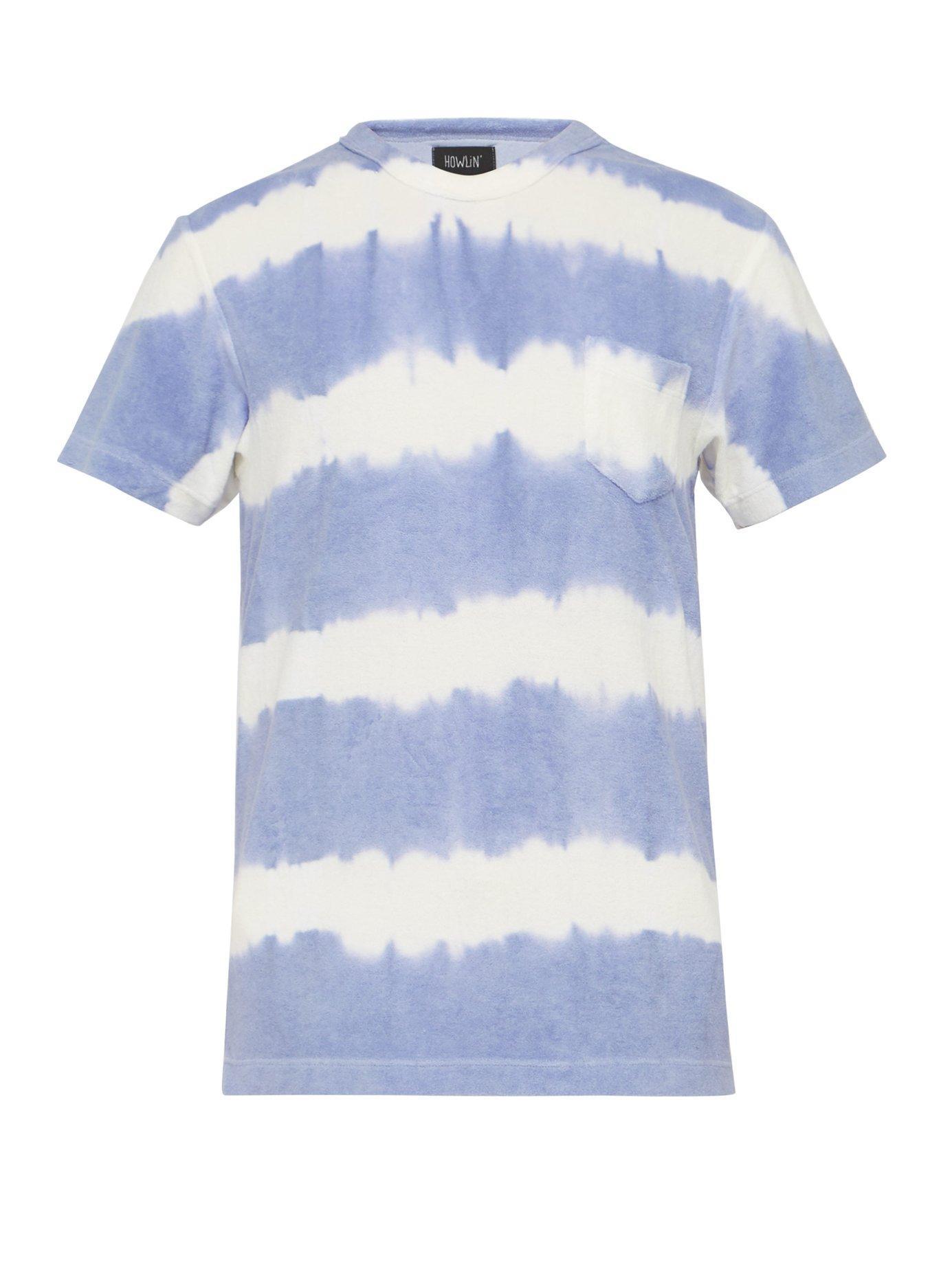 0218f3b7fbd Lyst - Howlin' By Morrison Fons Cotton Blend Terry T Shirt in Purple ...
