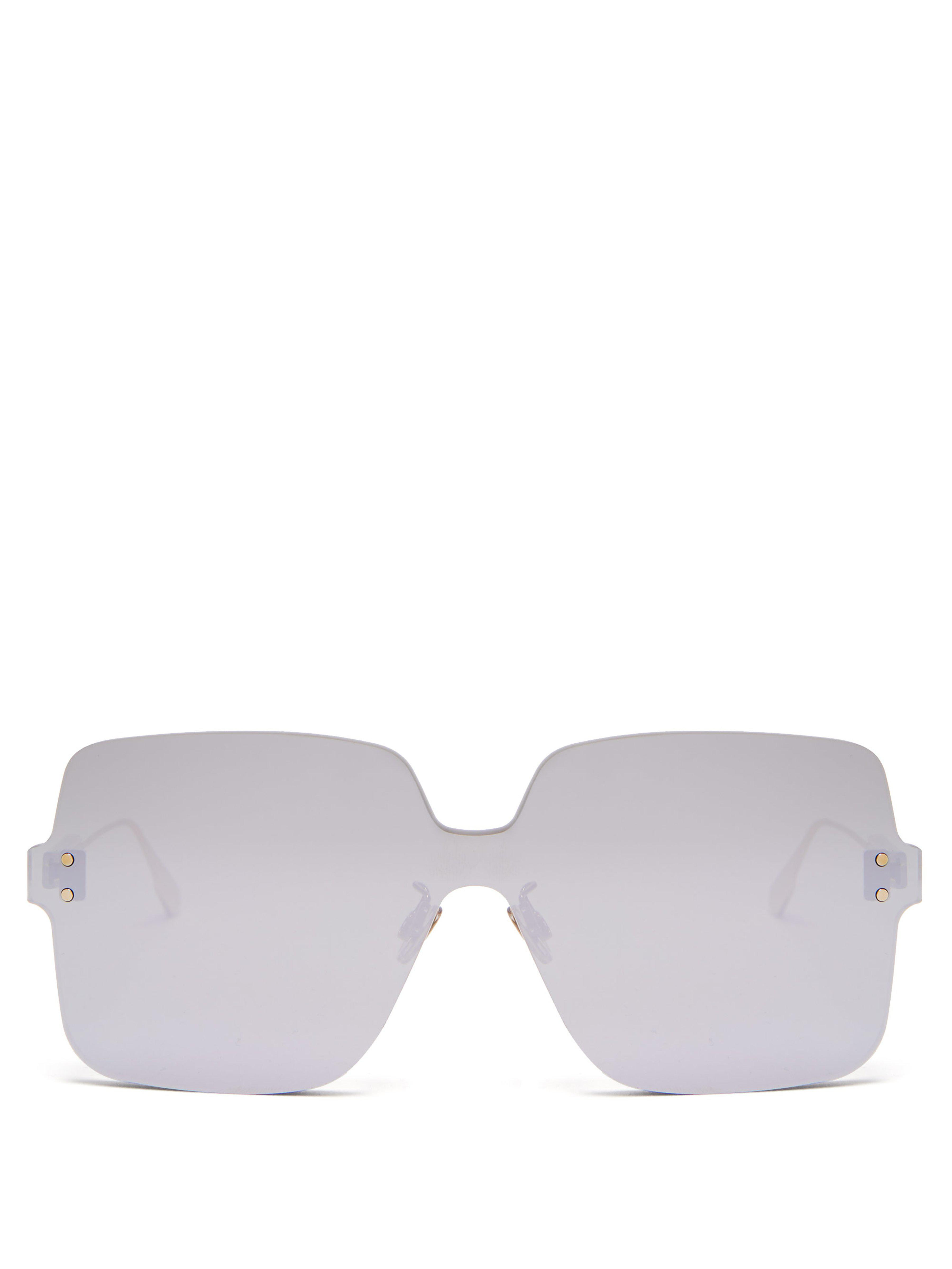 a8883d9feca Dior Colourquake1 Sunglasses in Metallic - Lyst