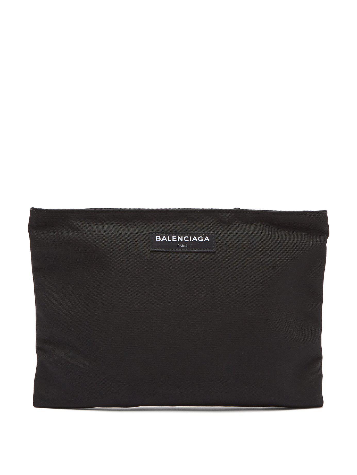 Balenciaga Pochette en toile Explorer b2GDWn