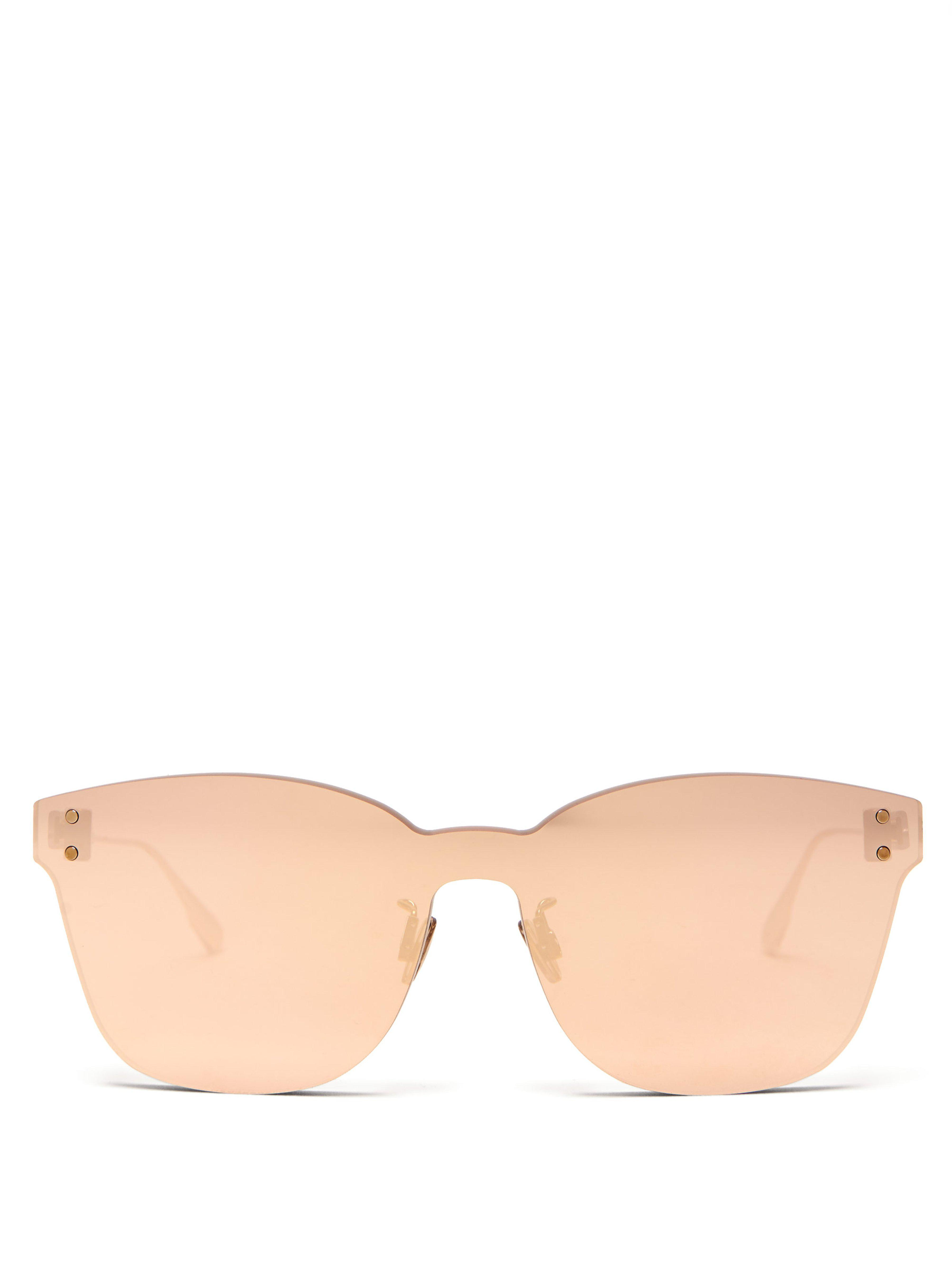 b7f3f14b385b Dior Diorcolorquake2 Sunglasses in Metallic - Lyst