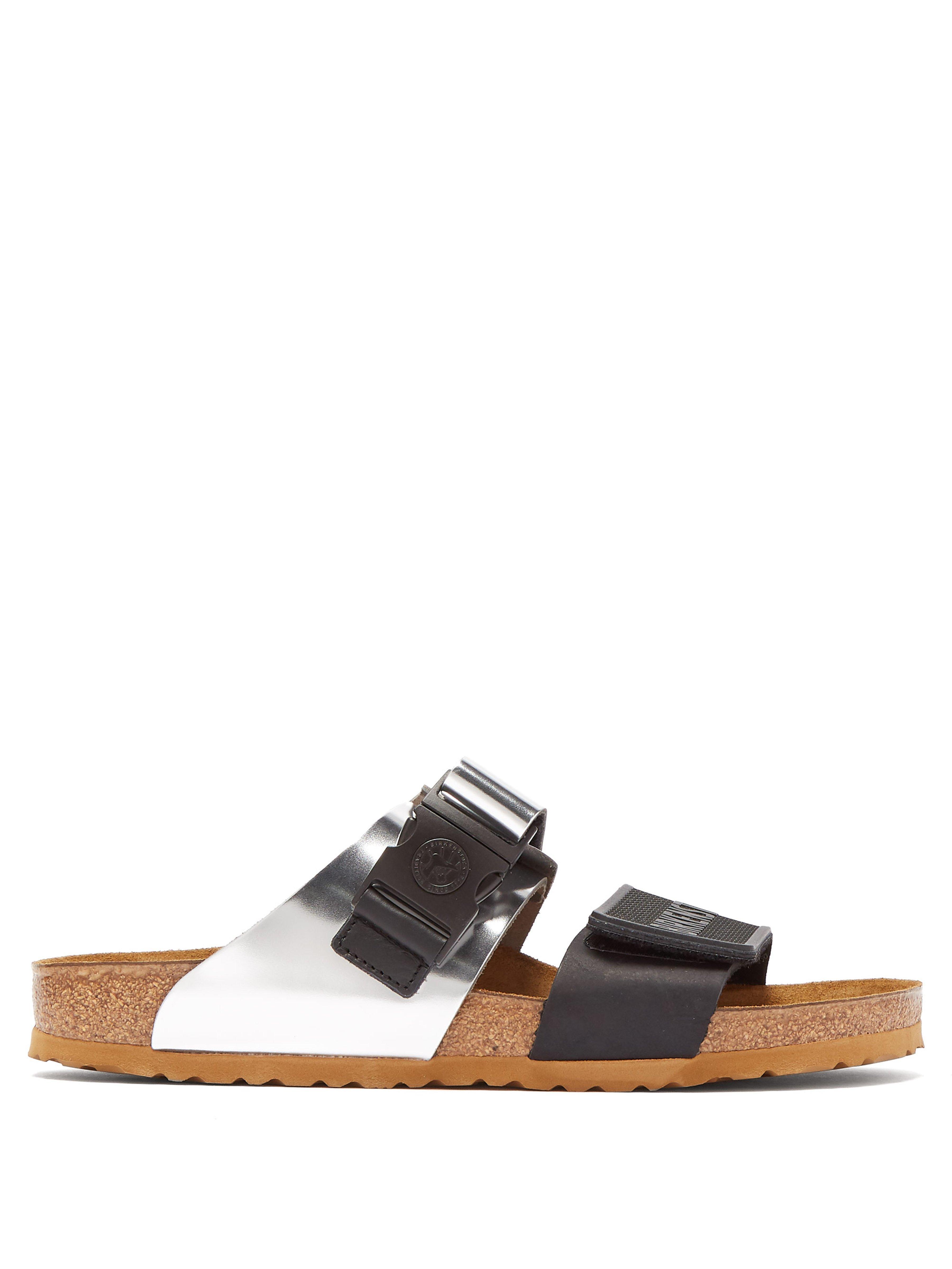 93c4d70bfab4 Rick Owens X Birkenstock Arizona Leather Sandals for Men - Lyst