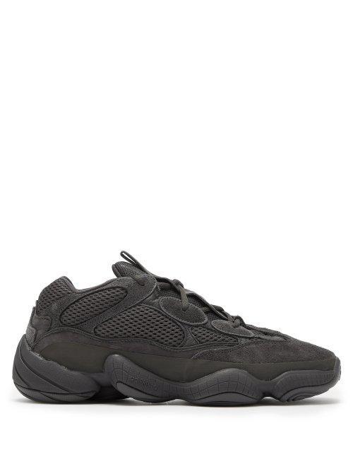 8339fec6b96f9 Lyst - Yeezy 500 Utility Black Trainers in Black for Men